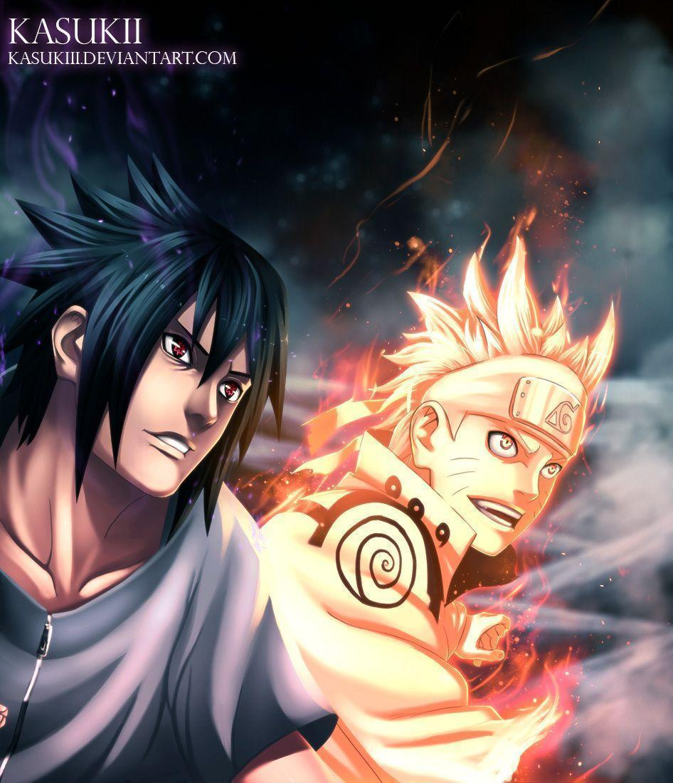 Naruto and Sasuke Attack Obito! Madara vs Hashirama – Naruto 641