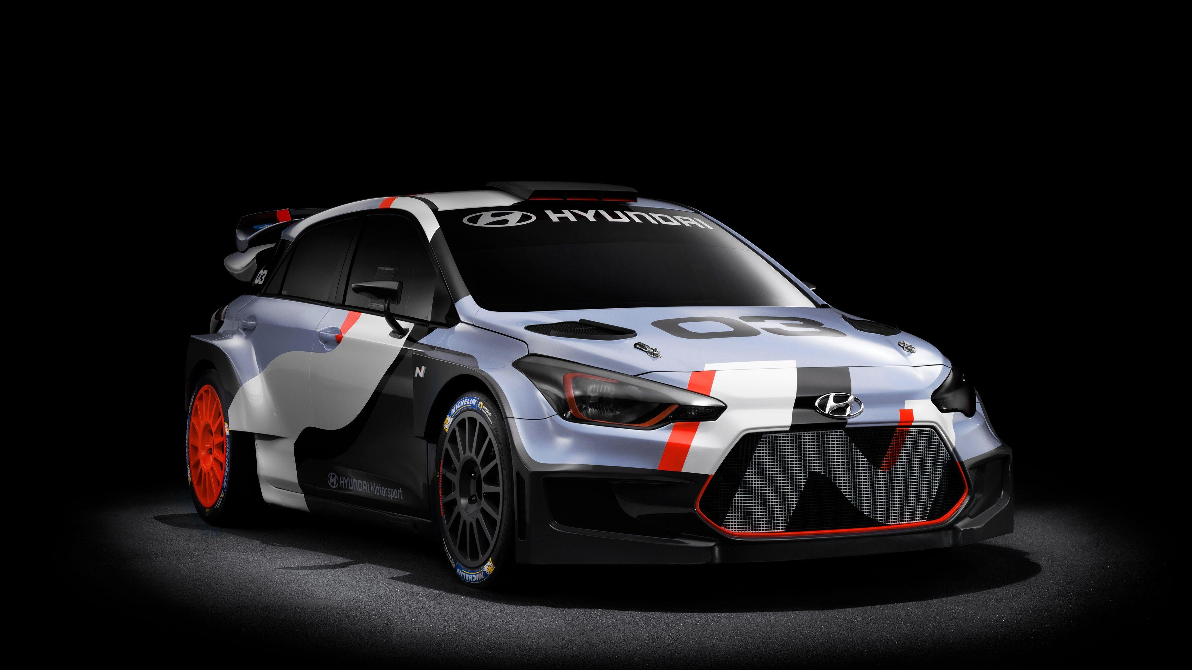 2015 Hyundai i20 WRC Concept Wallpapers