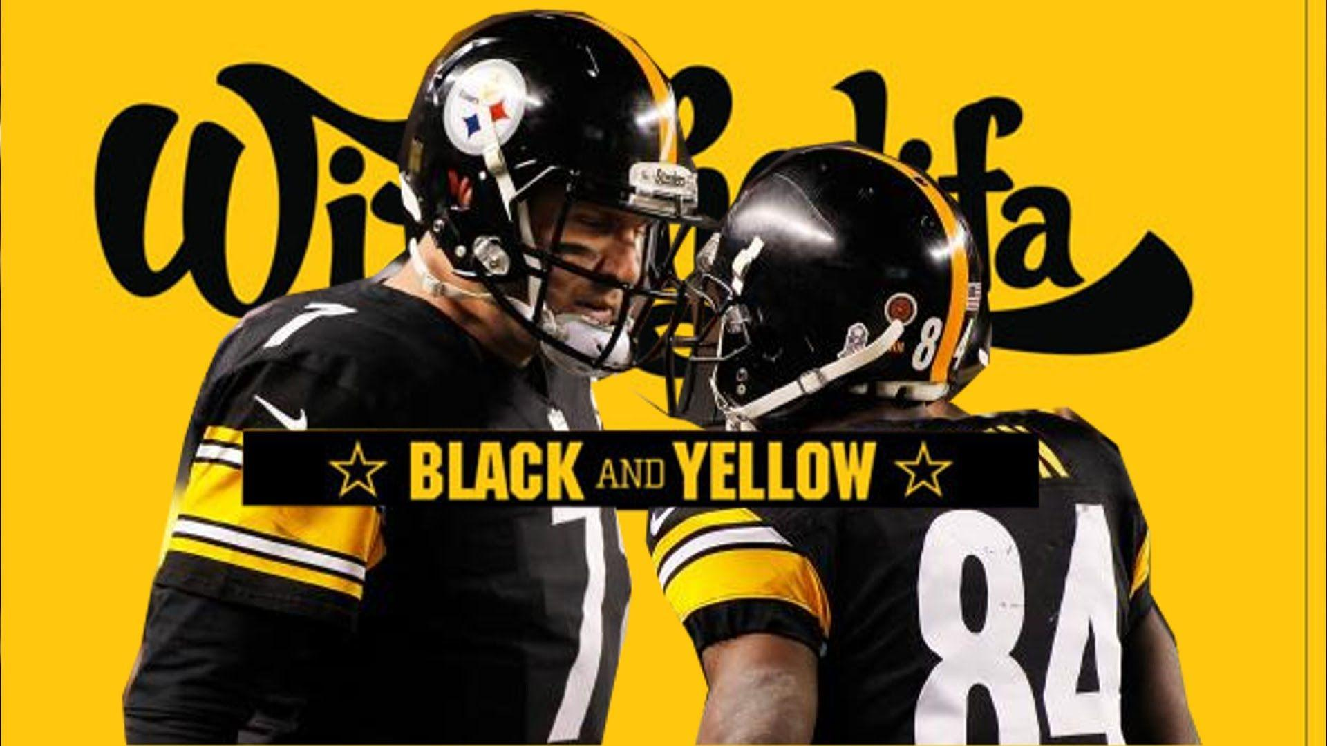 Pittsburgh Steelers - Black And Yellow (Steeler Nation Remix ...