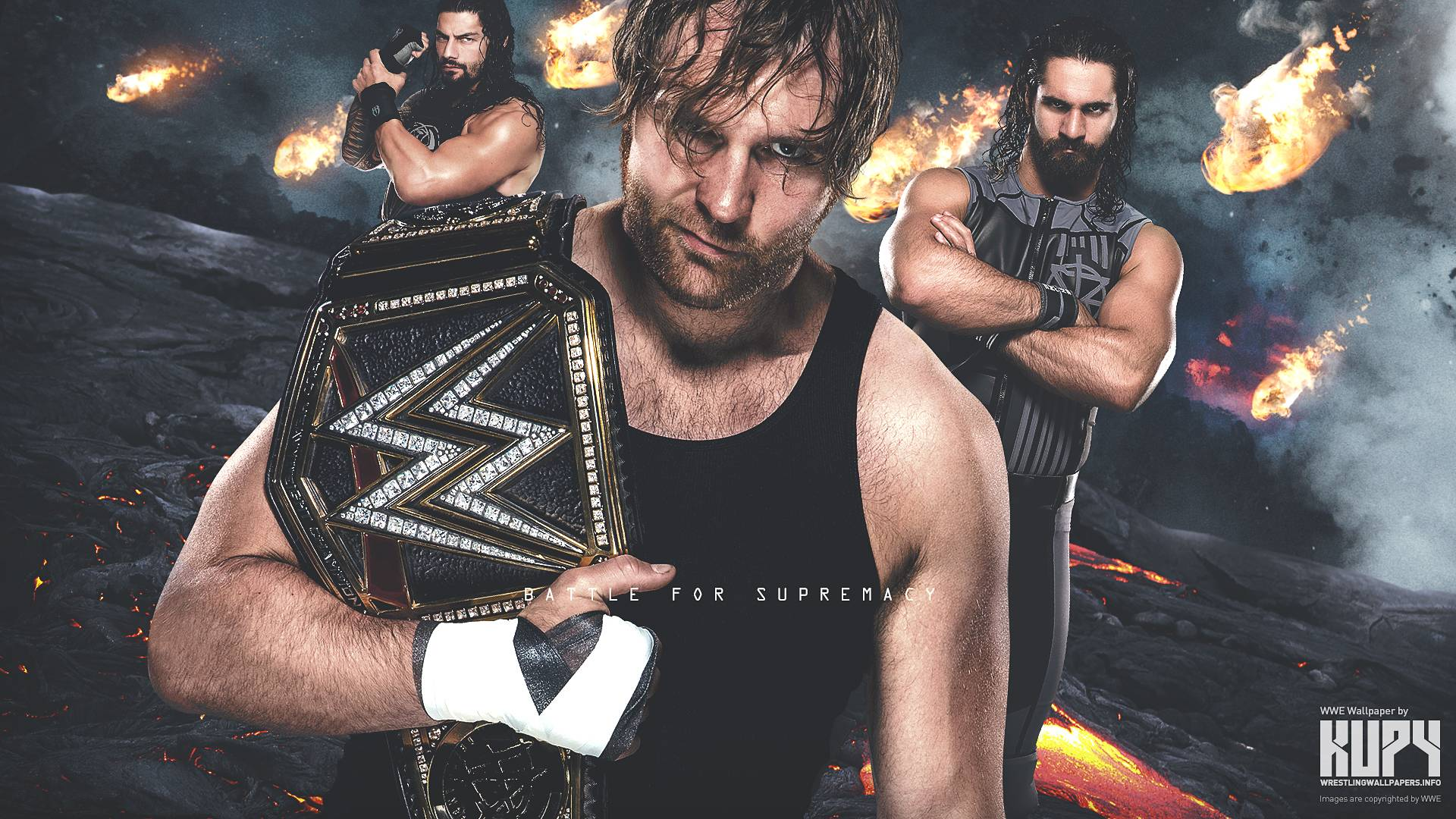 Roman Reigns Seth Rollins Dean Ambrose Wallpapers Wallpaper Cave