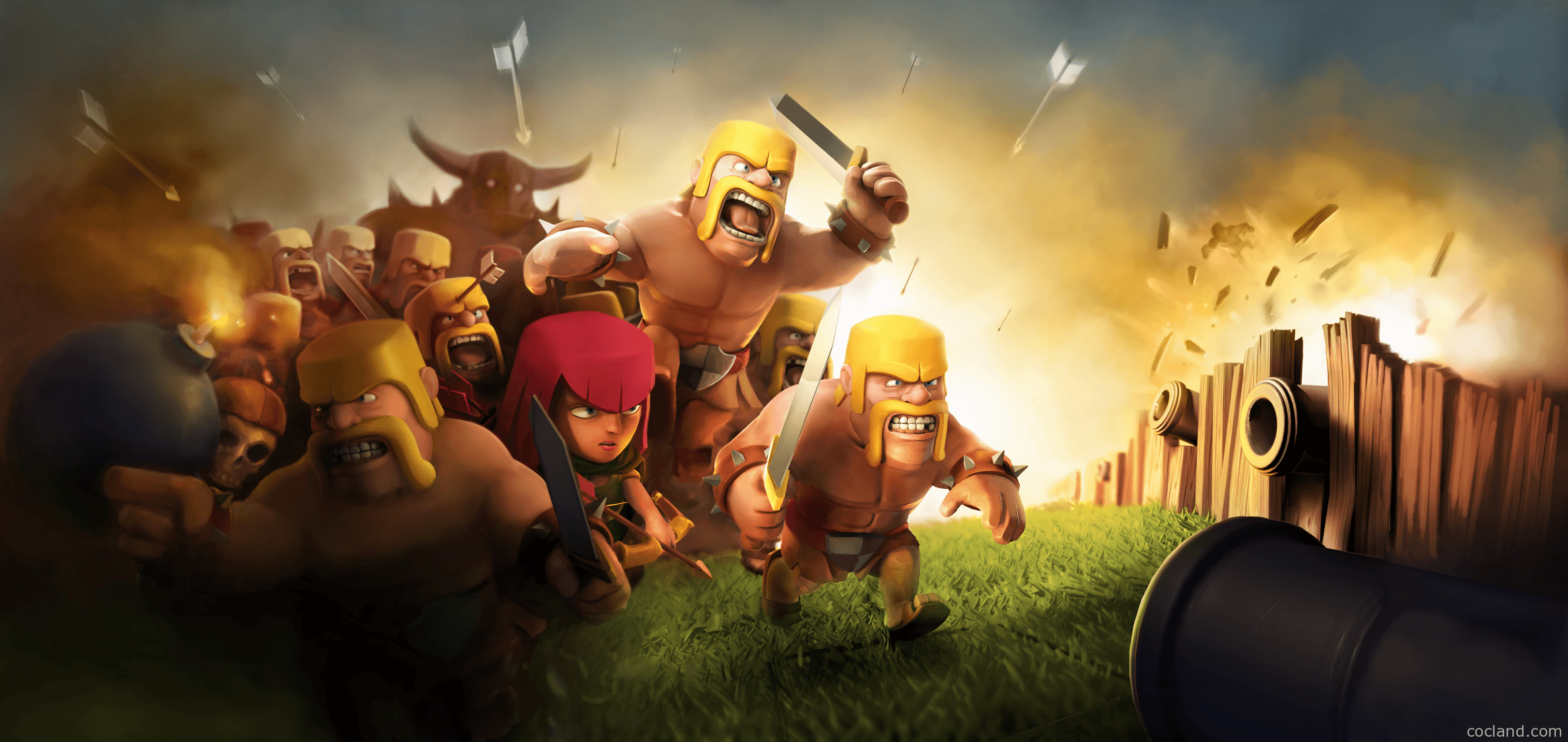 Clash Of Clans Wallpapers Wallpaper Cave