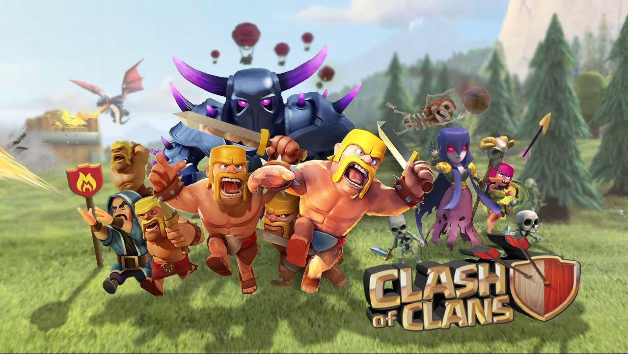 Clash Clans Wallpapers Wallpaper Cave