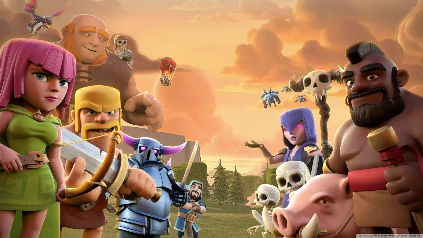 Clash Of Clans HD desktop wallpaper : High Definition : Mobile