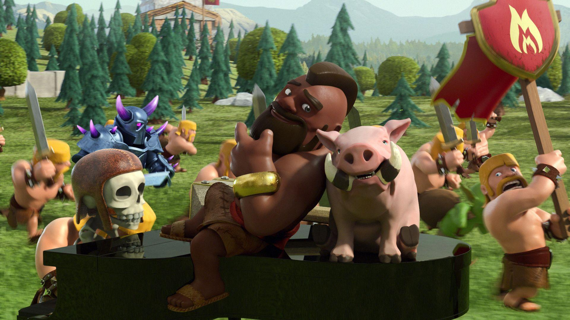 Funny Clash of Clans Wallpaper | Full HD Pictures