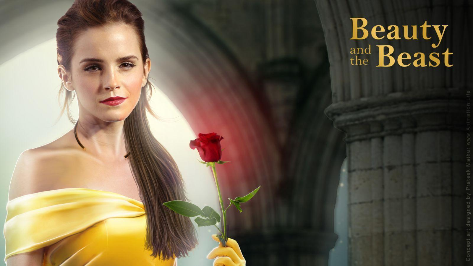 Concept Art Emma Watson As BELLE In Beauty And The Beast 2016