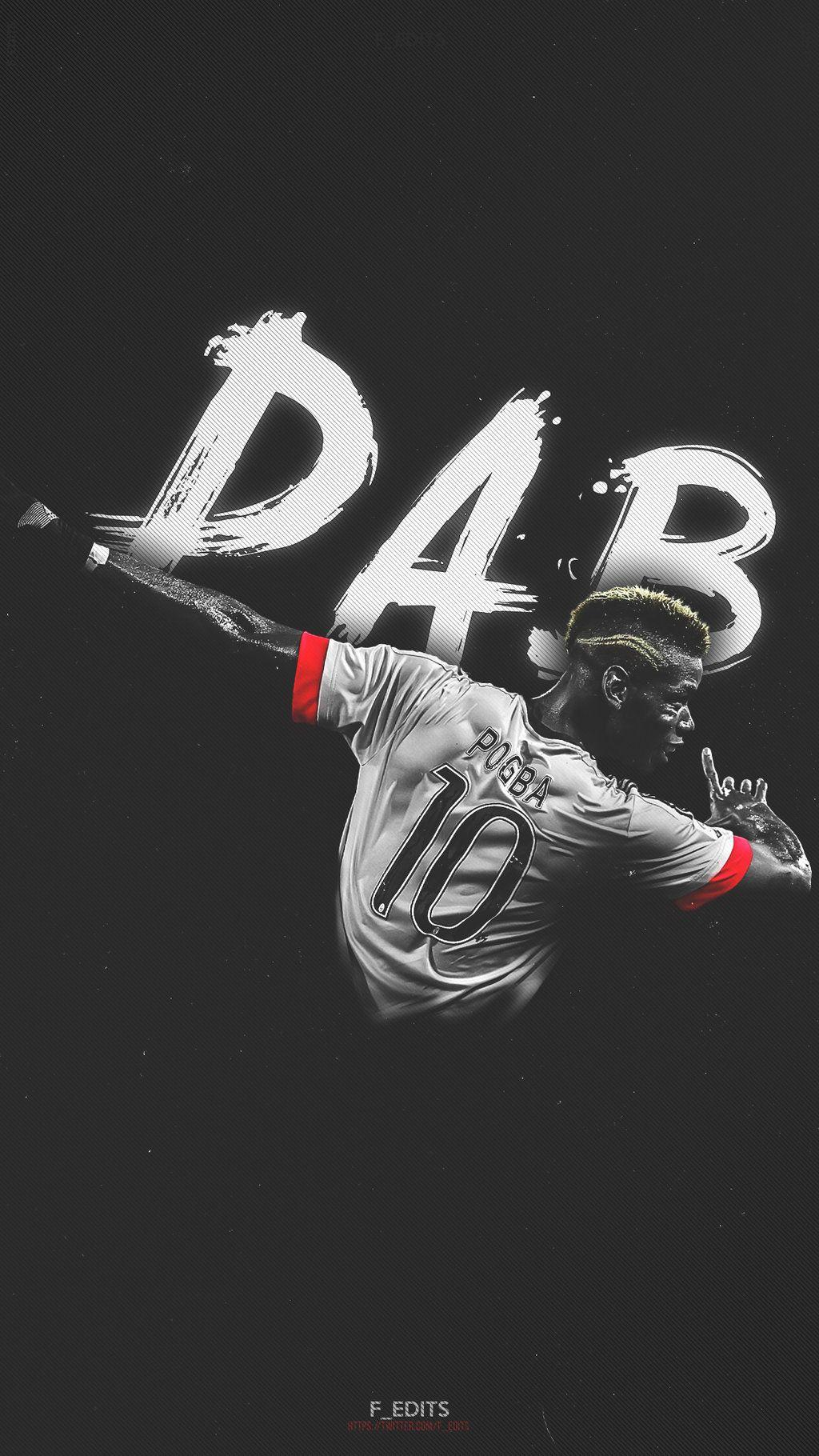 Paul Pogba dab wallpaper for phone by F-EDITS on DeviantArt