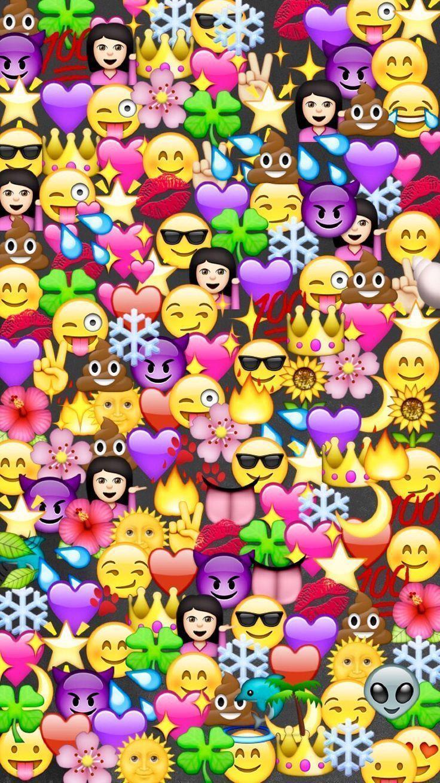 Emoji Wallpapers Wallpaper Cave