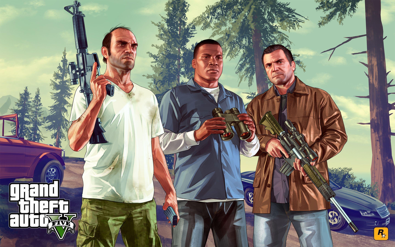 Grand Theft Auto V Wallpapers Wallpaper Cave