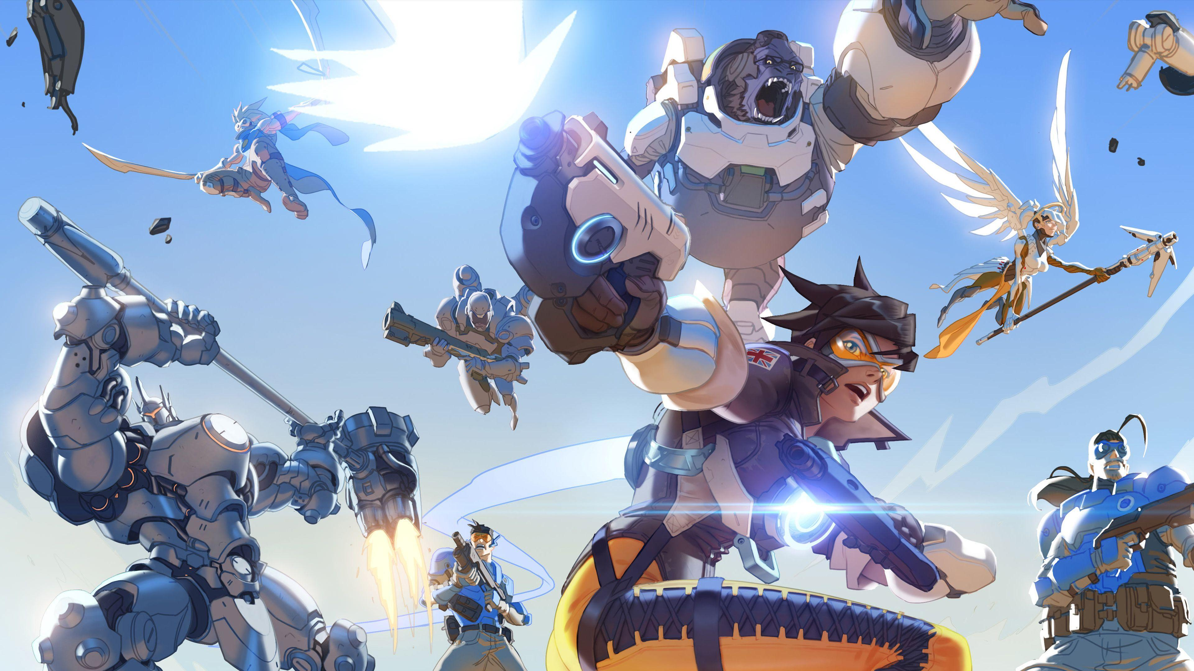 Overwatch Hd Wallpapers Wallpaper Cave