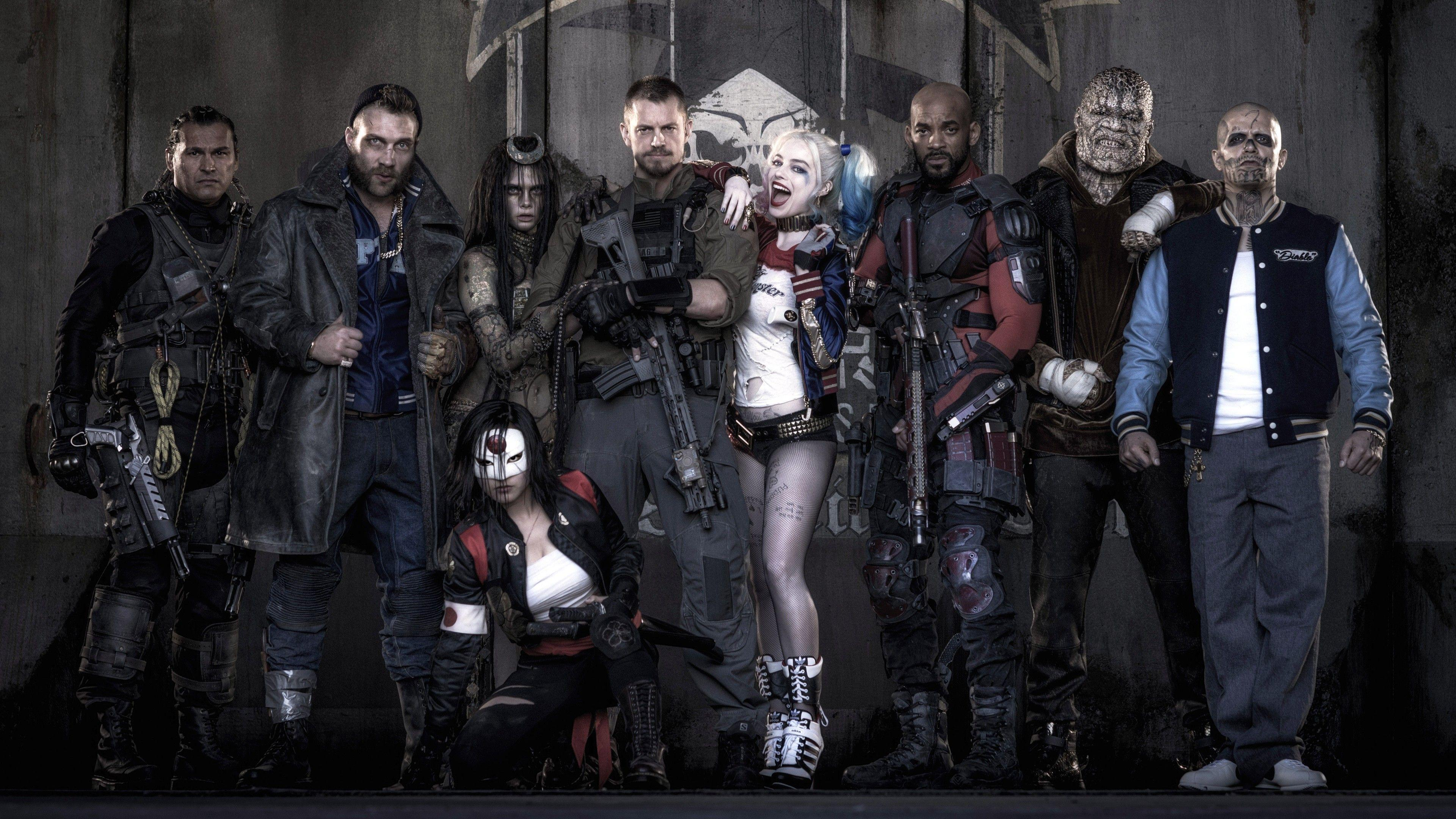 Suicide Squad 2016 Movie Wallpapers