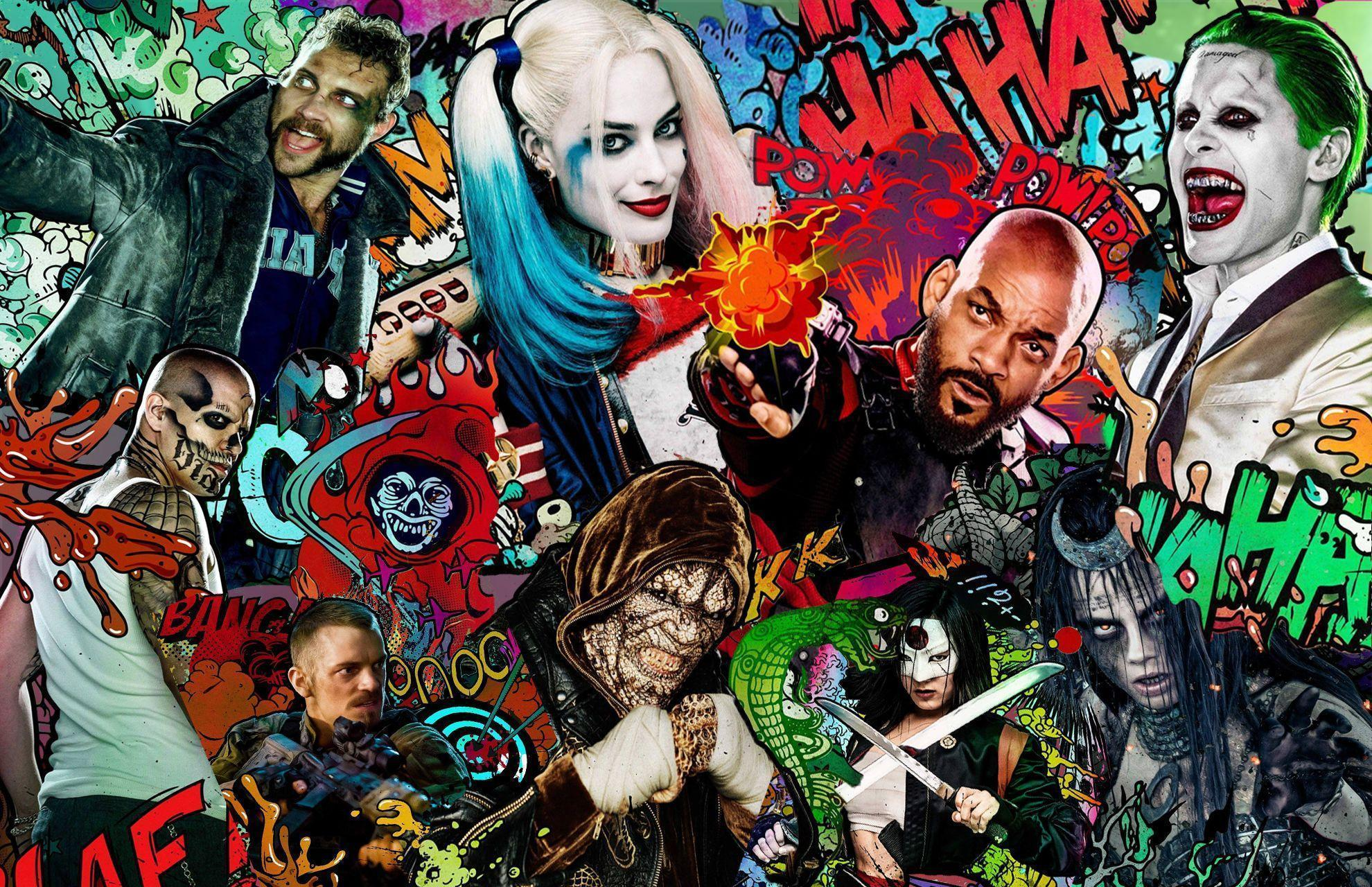128 Suicide Squad HD Wallpapers
