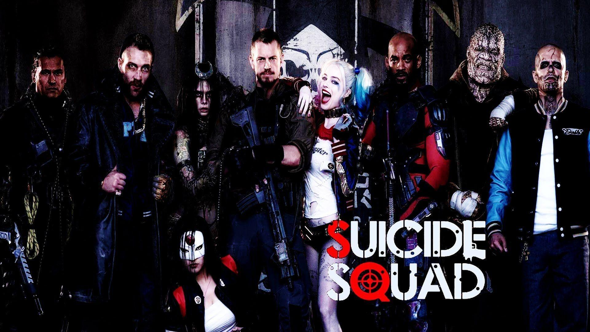 Suicide Squad 2016 HD wallpapers free download