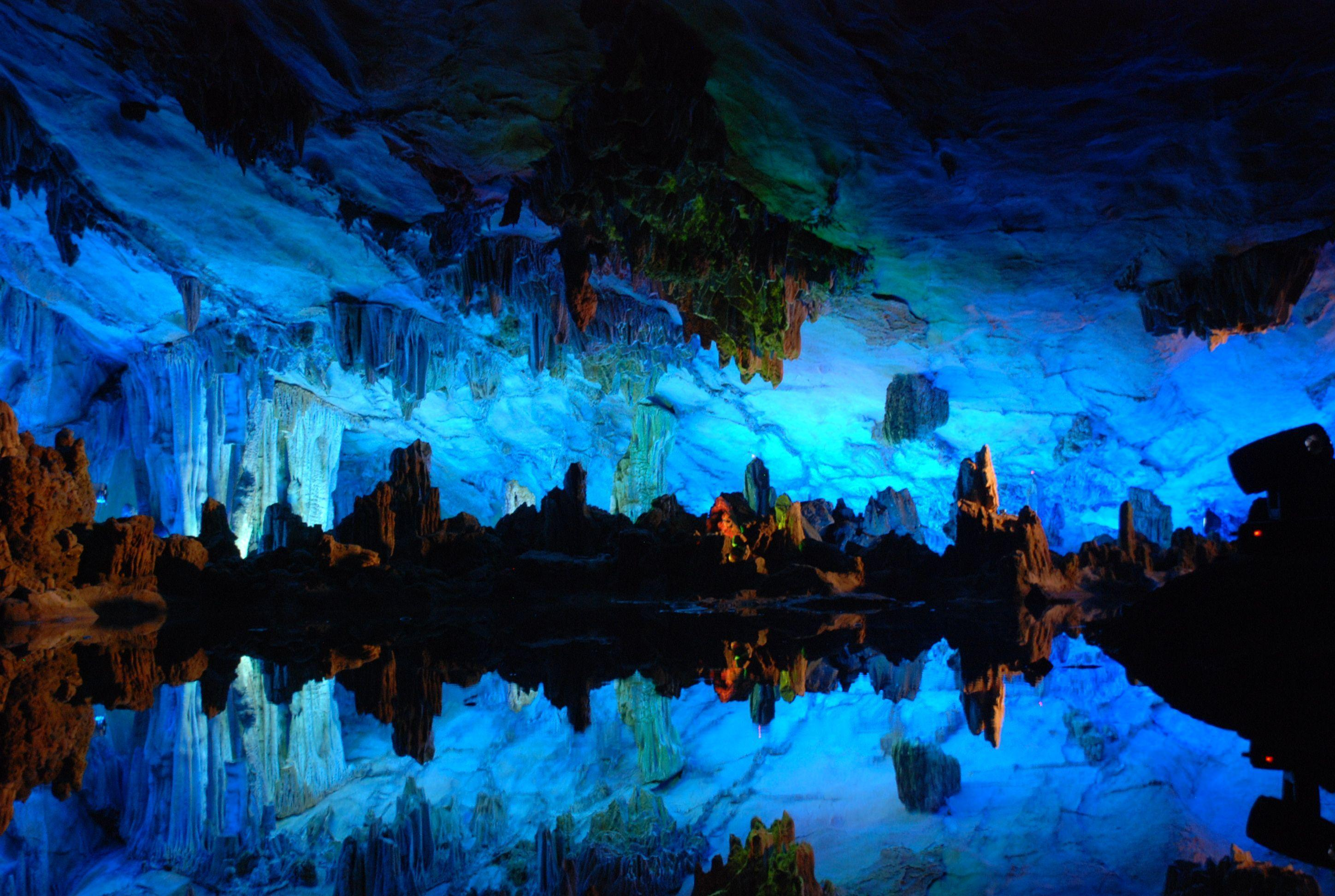 5 Reed Flute Cave HD Wallpapers | Backgrounds - Wallpaper Abyss