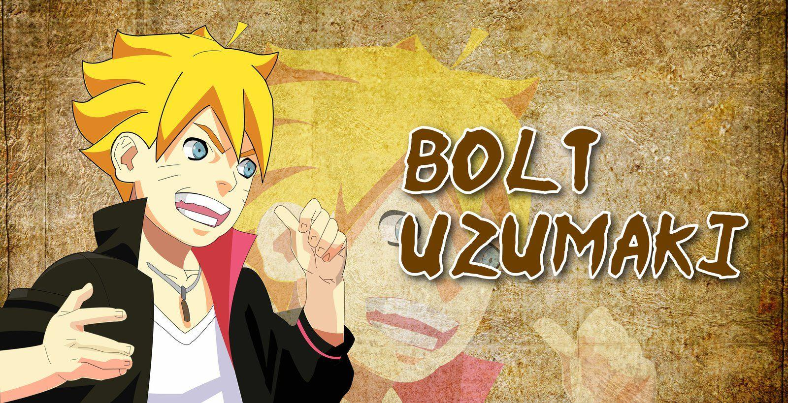 Uzumaki Bolt/Boruto From Naruto. by Blazearx