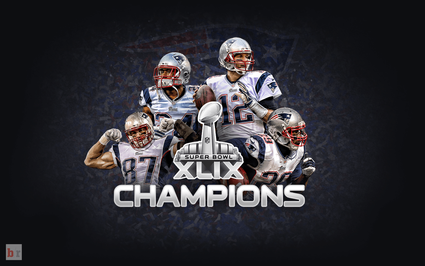 New England Patriots Super Bowl Champion Wallpapers