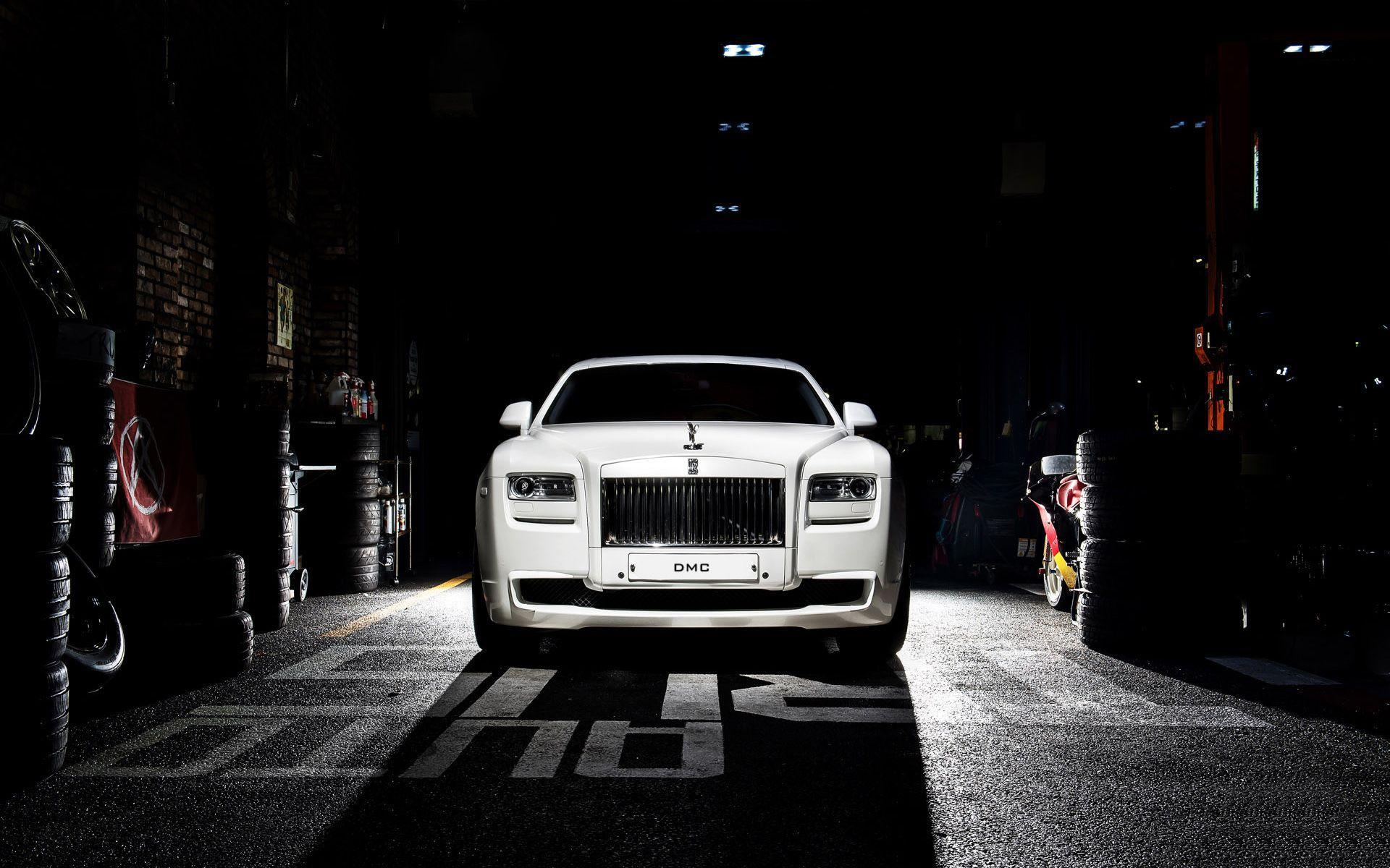 2016 DMC Rolls Royce Ghost SaRangHae Wallpapers