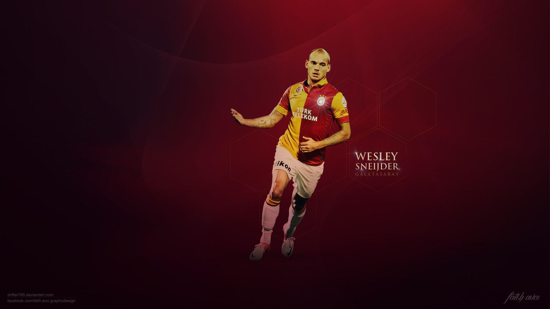Wesley Sneijder Galatasaray Exclusive HD Wallpapers #1958