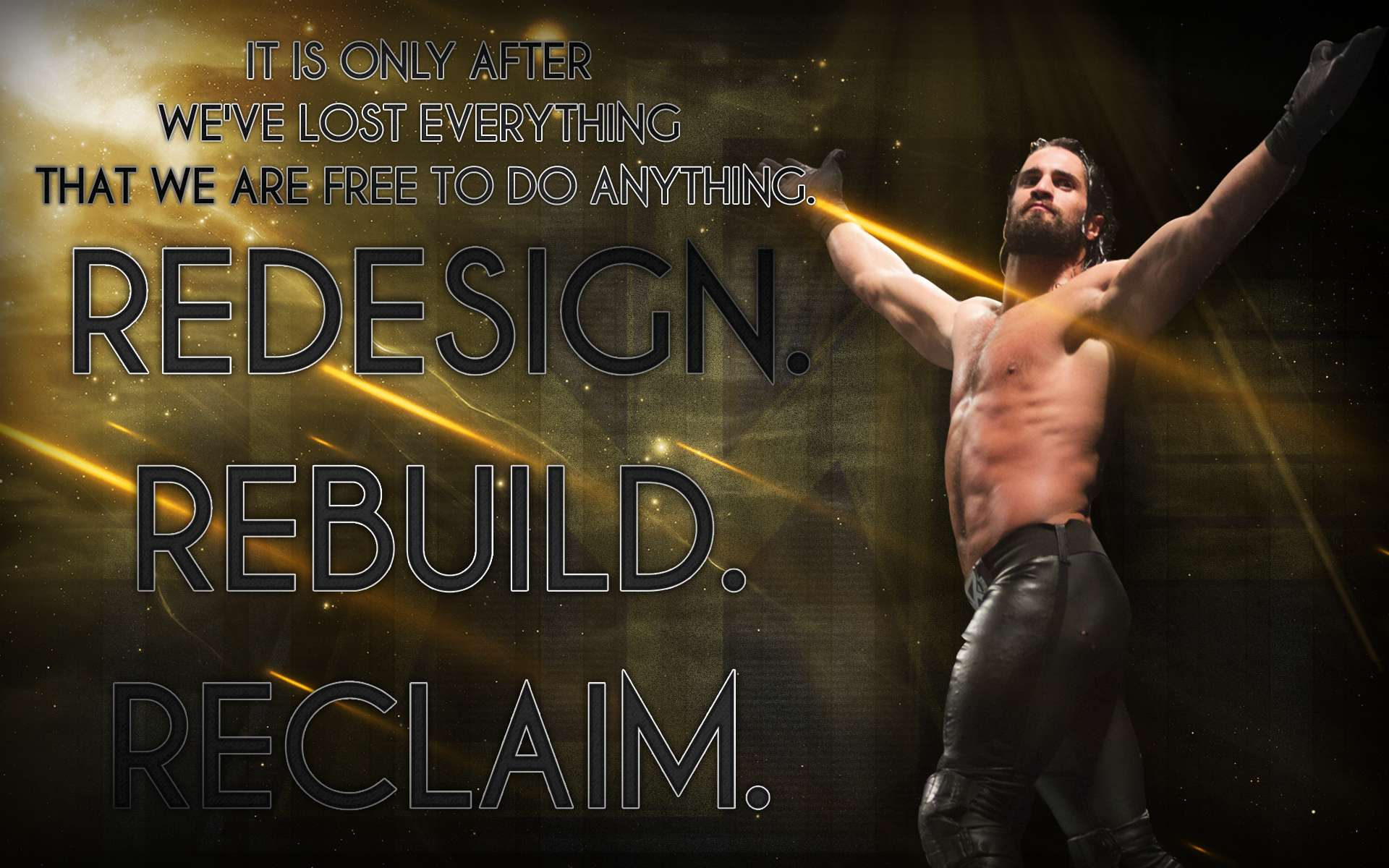 Seth Rollins Wallpapers Wallpaper Cave