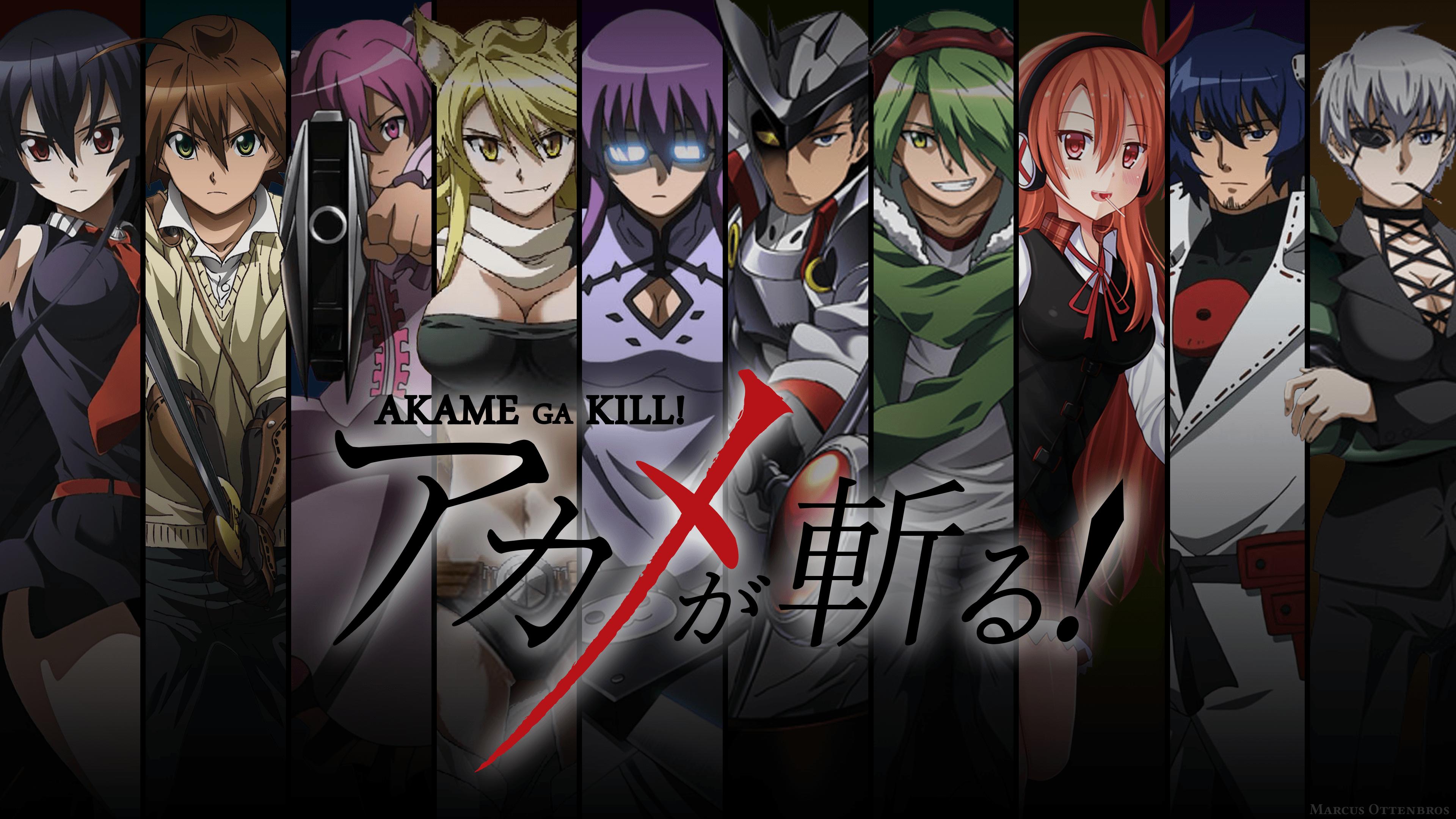 Akame Ga Kill Wallpapers Wallpaper Cave