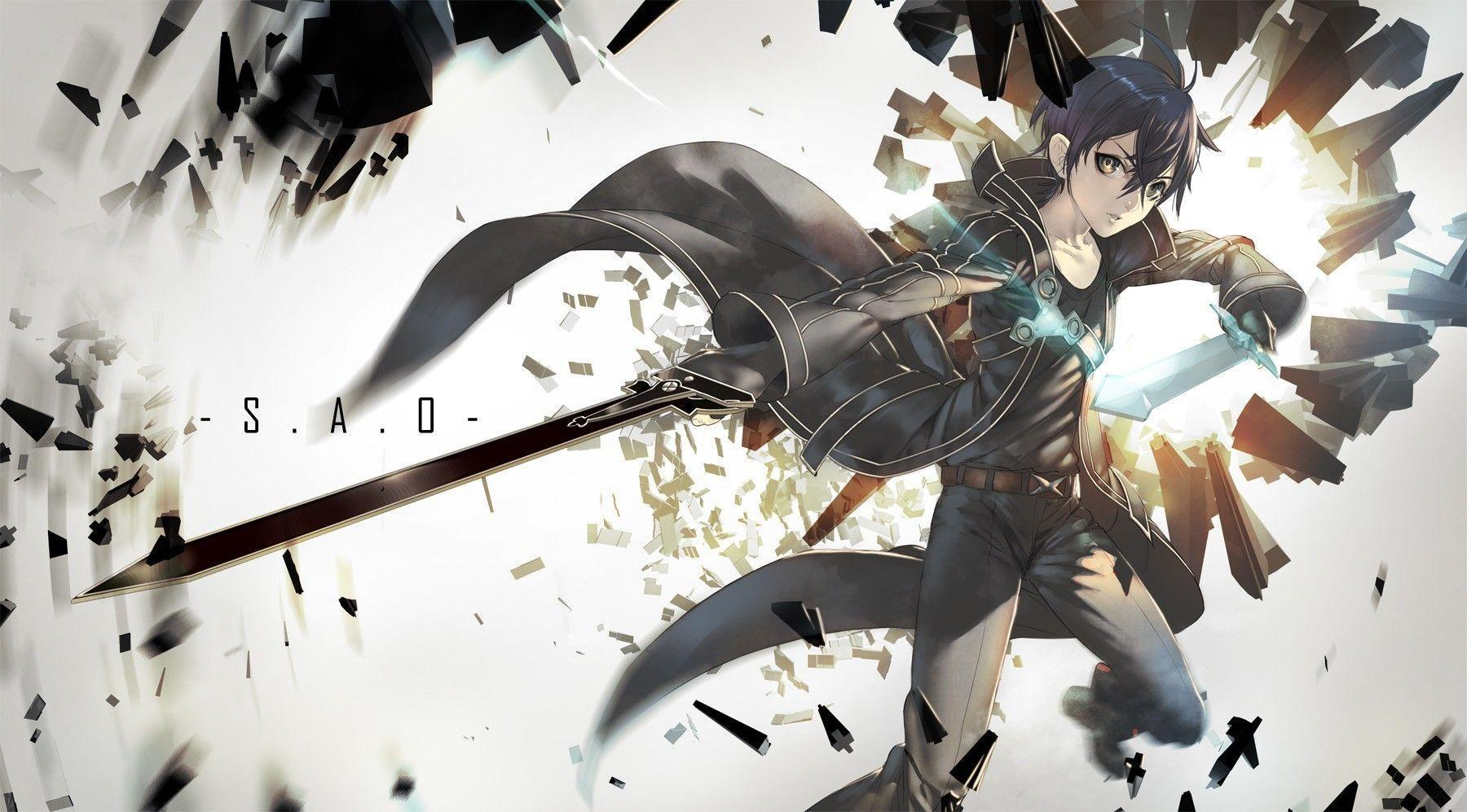 Kirito Wallpapers - Wallpaper Cave