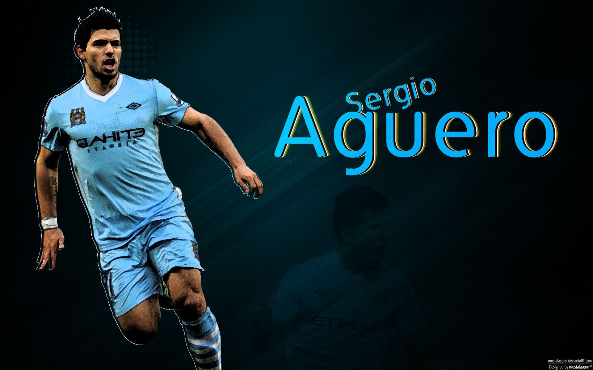 Sergio Aguero 651615 Wallpapers High Quality: Sergio Agüero Wallpapers