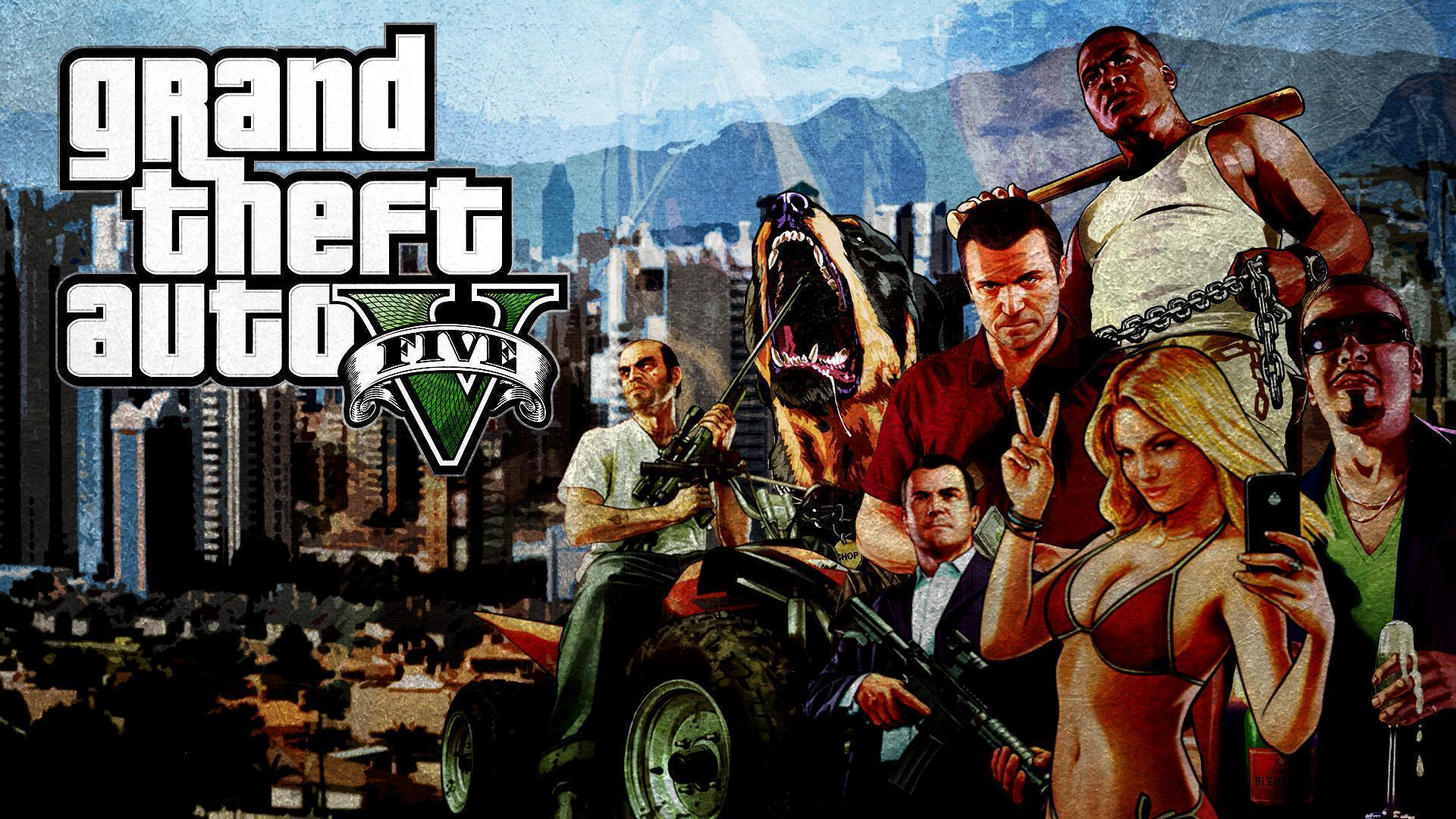 Gta 5 wallpapers wallpaper cave - Gta v wallpaper ...