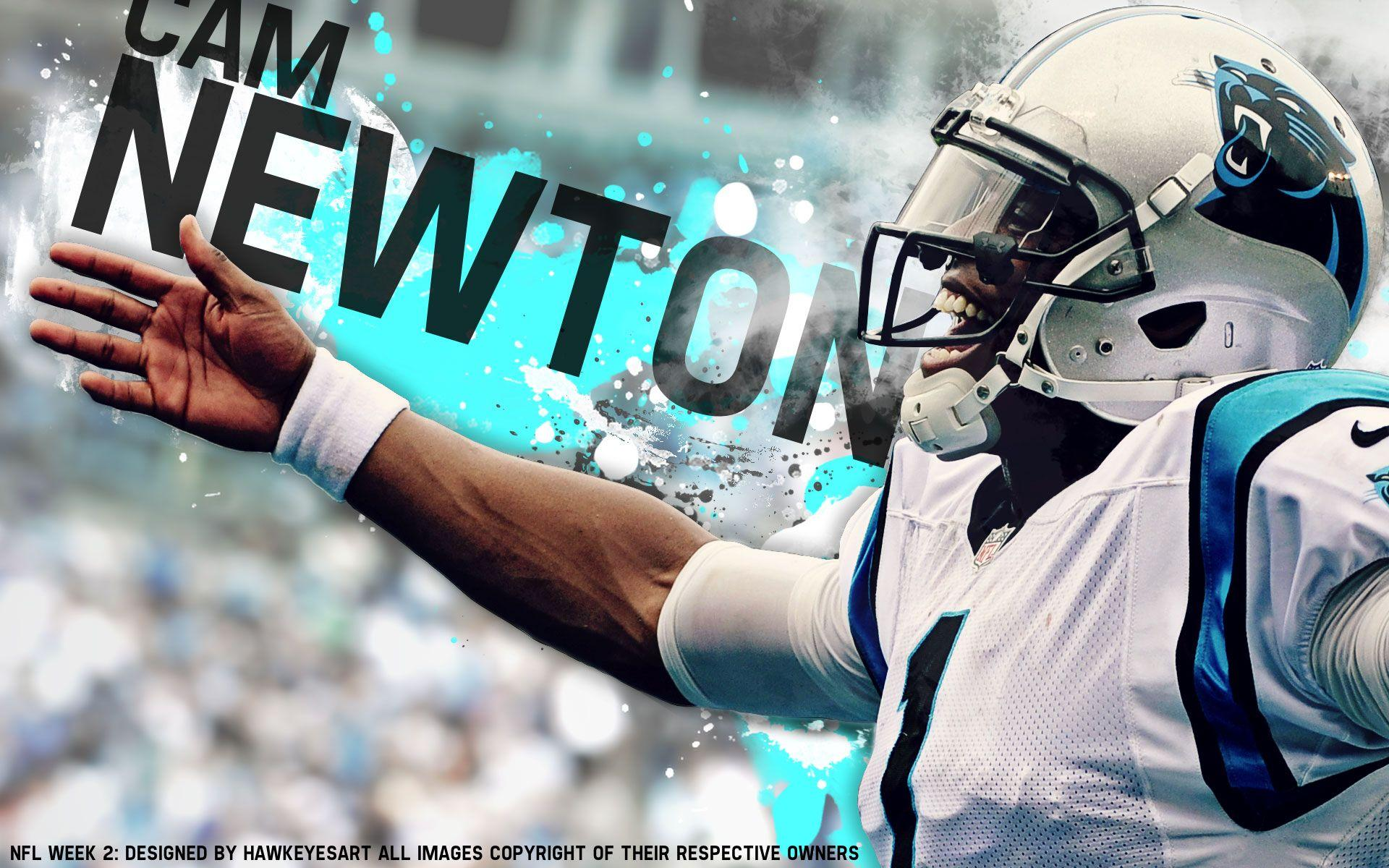 Awesome Wallpapers Dabbing Nfl Player: Cam Newton Wallpapers