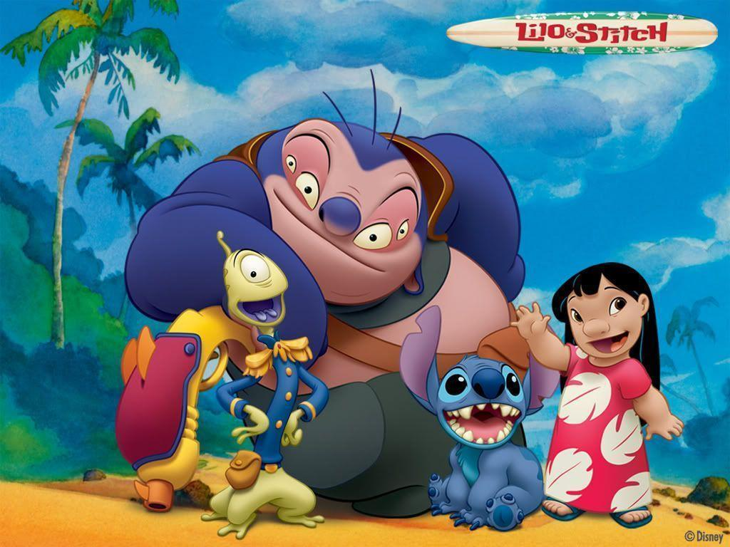 It's just a graphic of Shocking Lilo and Stitch Pictures