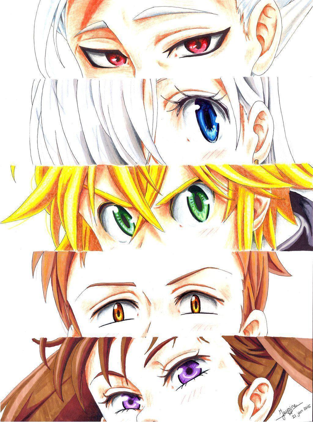DeviantArt: More Like Nanatsu no taizai - Wallpaper 2 The Deadly 7 ...