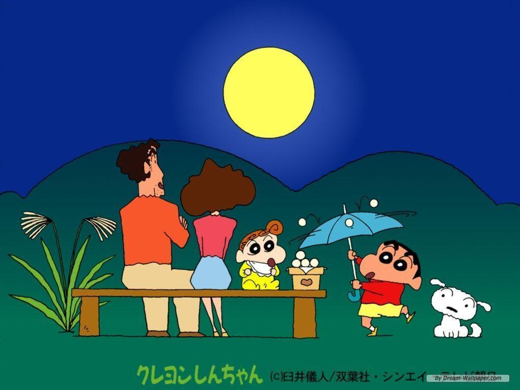Free Wallpaper - Free Cartoon wallpaper - Crayon Shin-chan ...