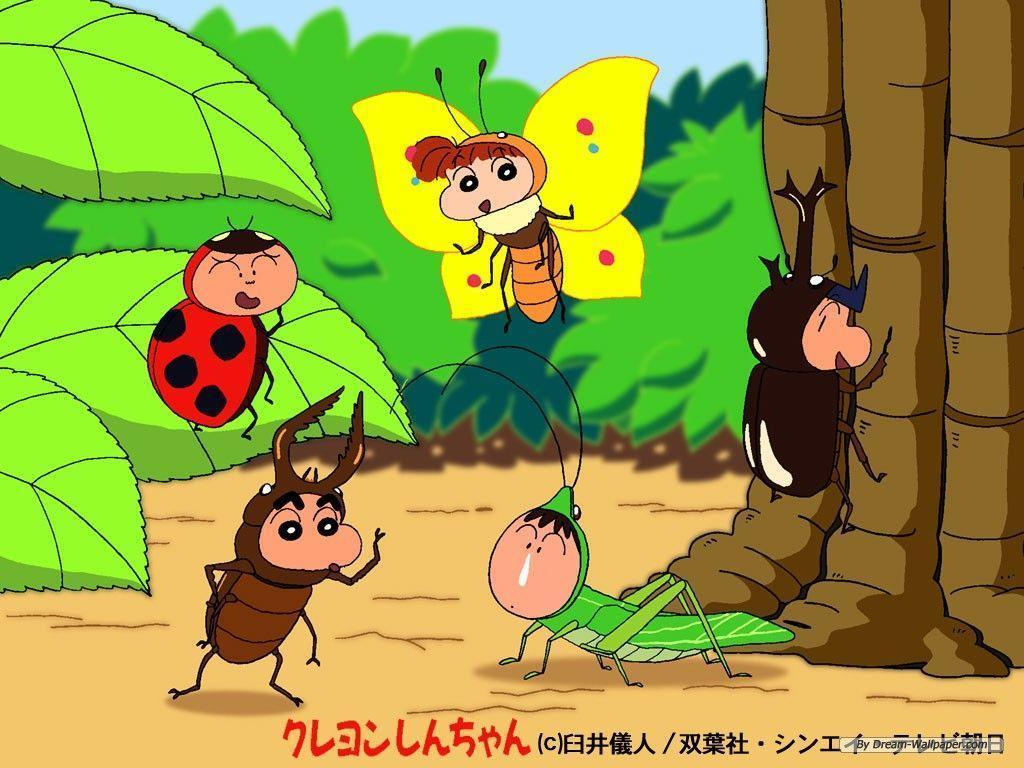 Free Cartoon wallpaper Crayon Shinchan wallpaper 1024x768 ~ cool ...