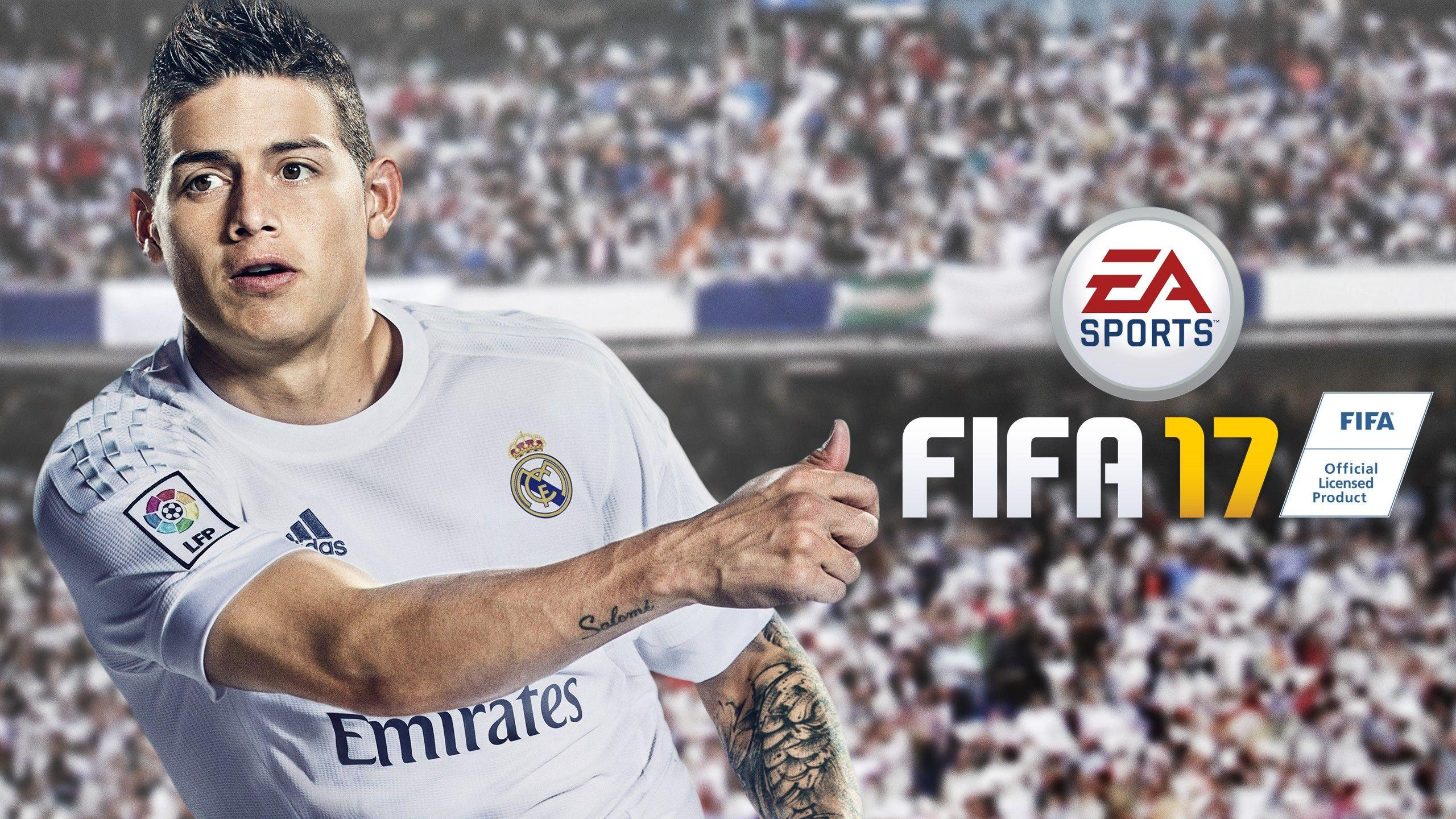 James Rodriguez FIFA 17 Wallpapers | HD Wallpapers