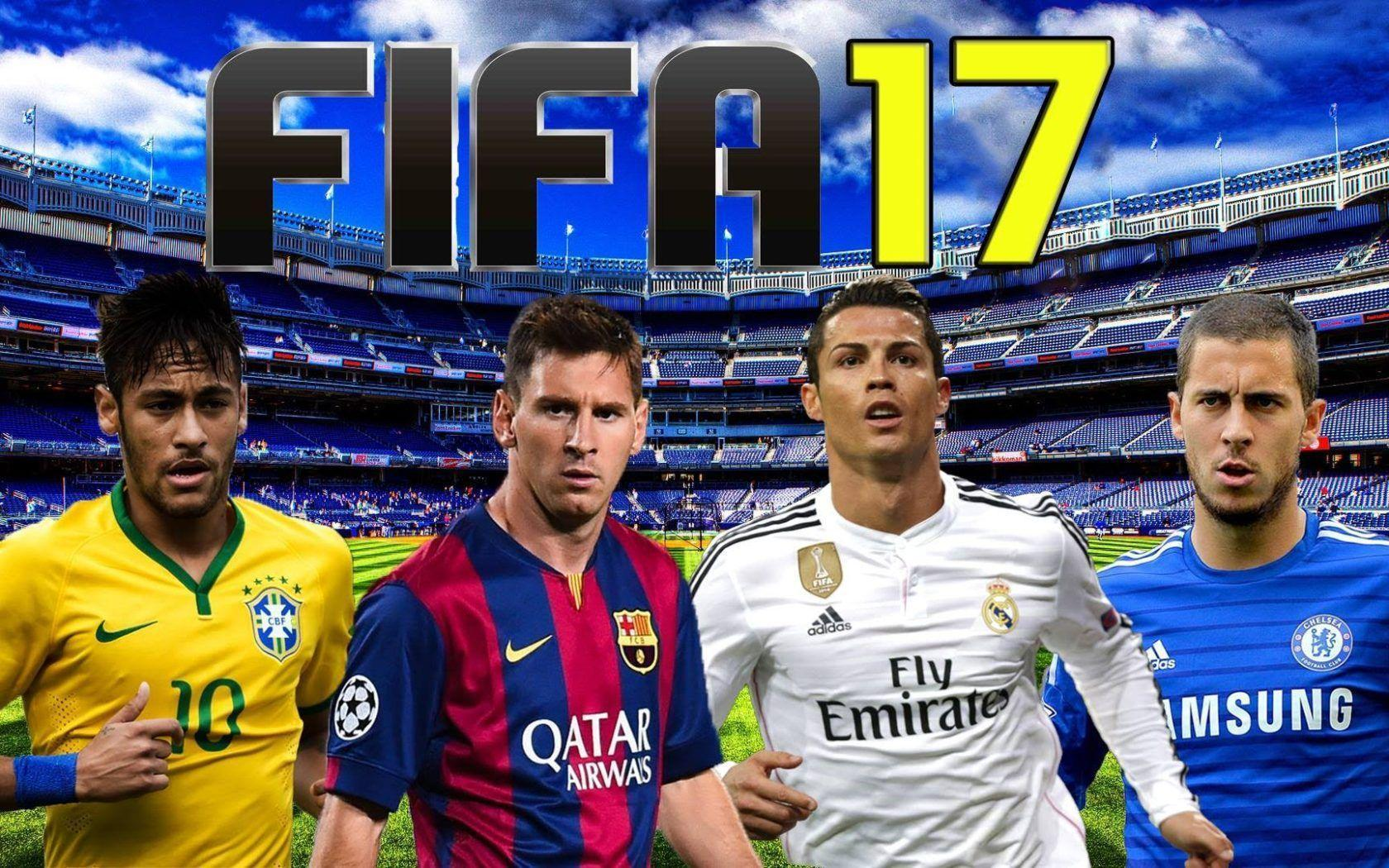 FIFA 17 New Desktop Wallpaper Background - Back Wallpapers