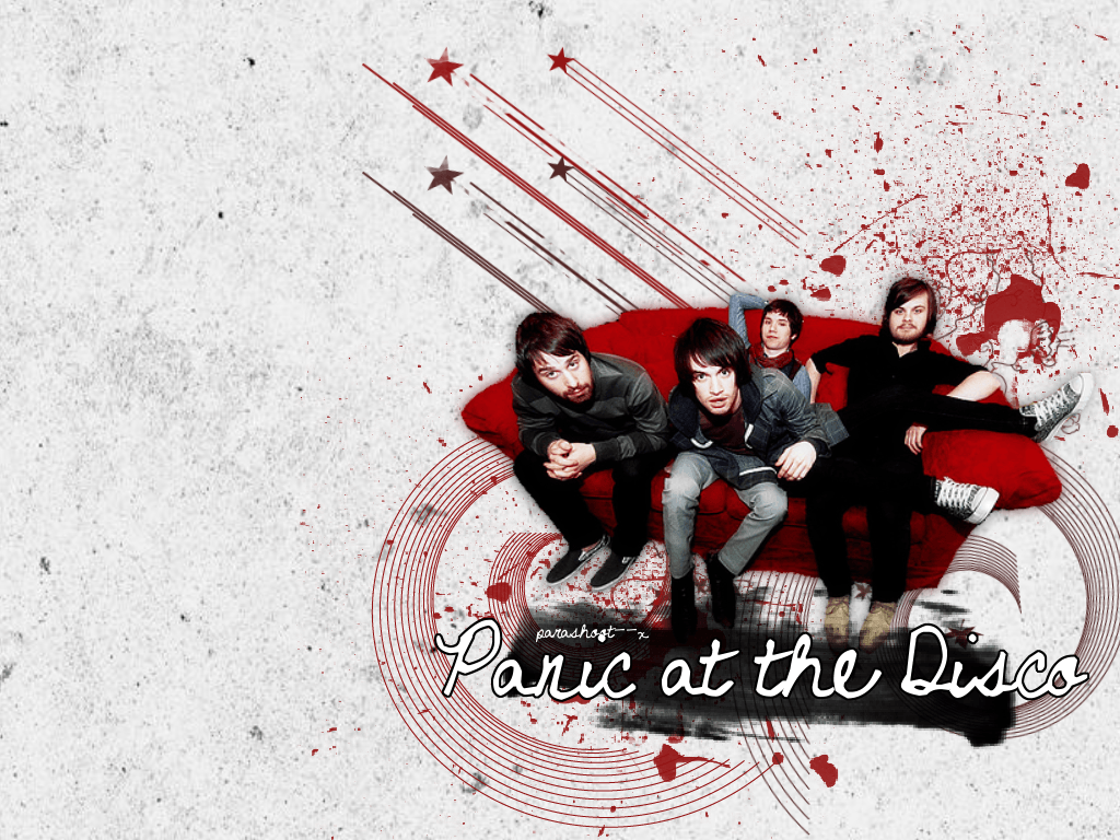 Panic at the disco. Wallpaper by parashoot--x on DeviantArt