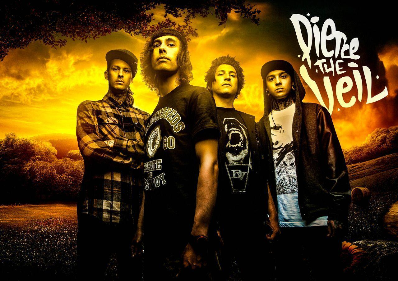 Pierce the veil, The veil and Veils on Pinterest