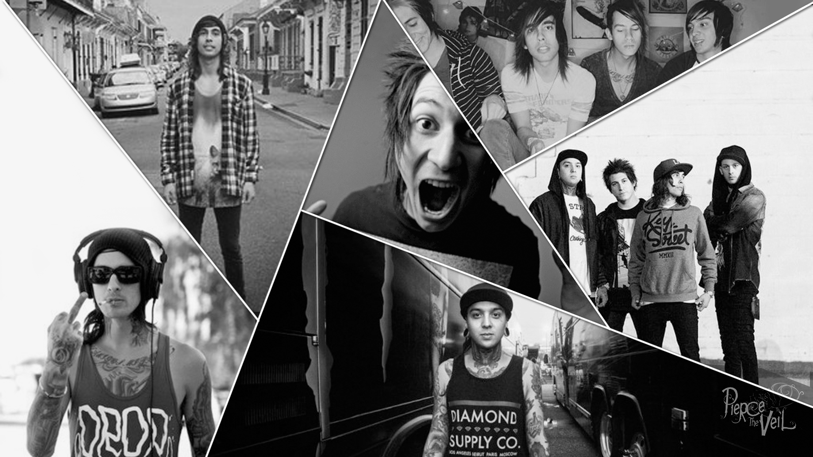 Free Download Deviantart More Like Pierce The Veil Wallpaper By