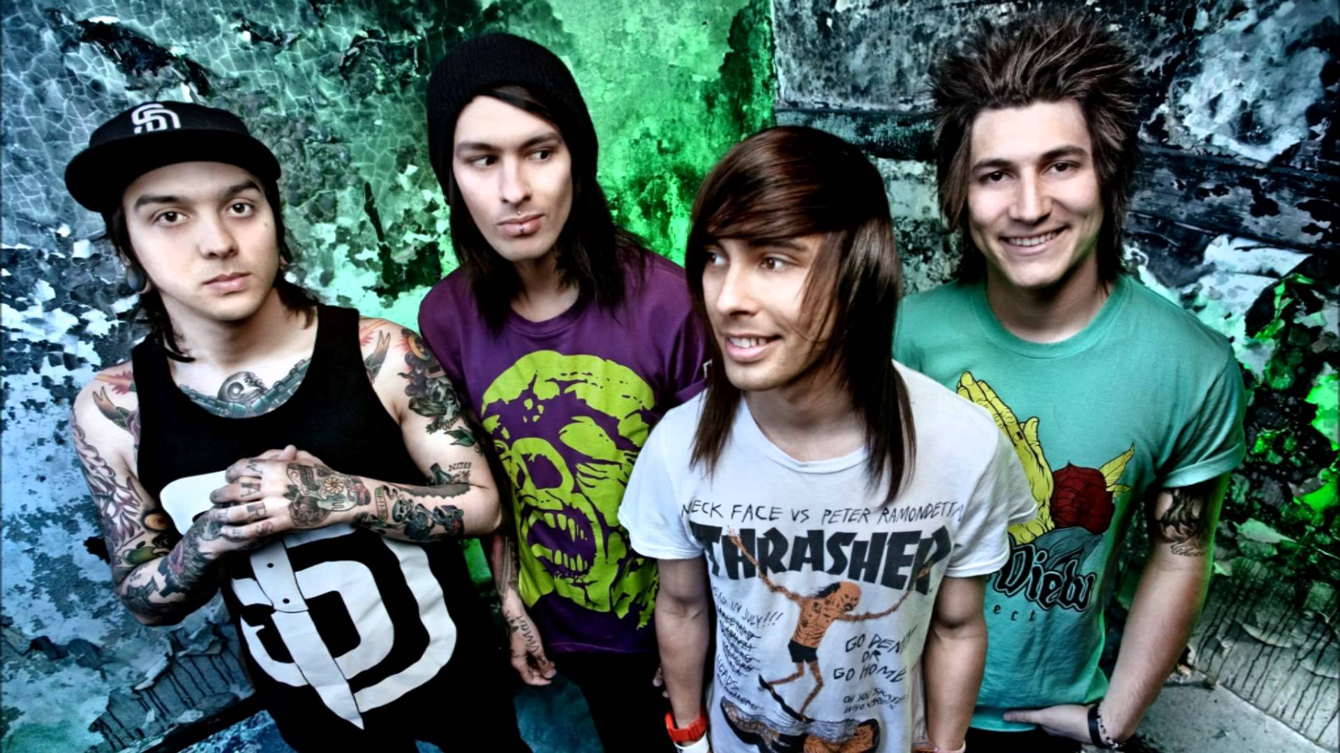 7 Pierce The Veil HD Wallpapers | Backgrounds - Wallpaper Abyss