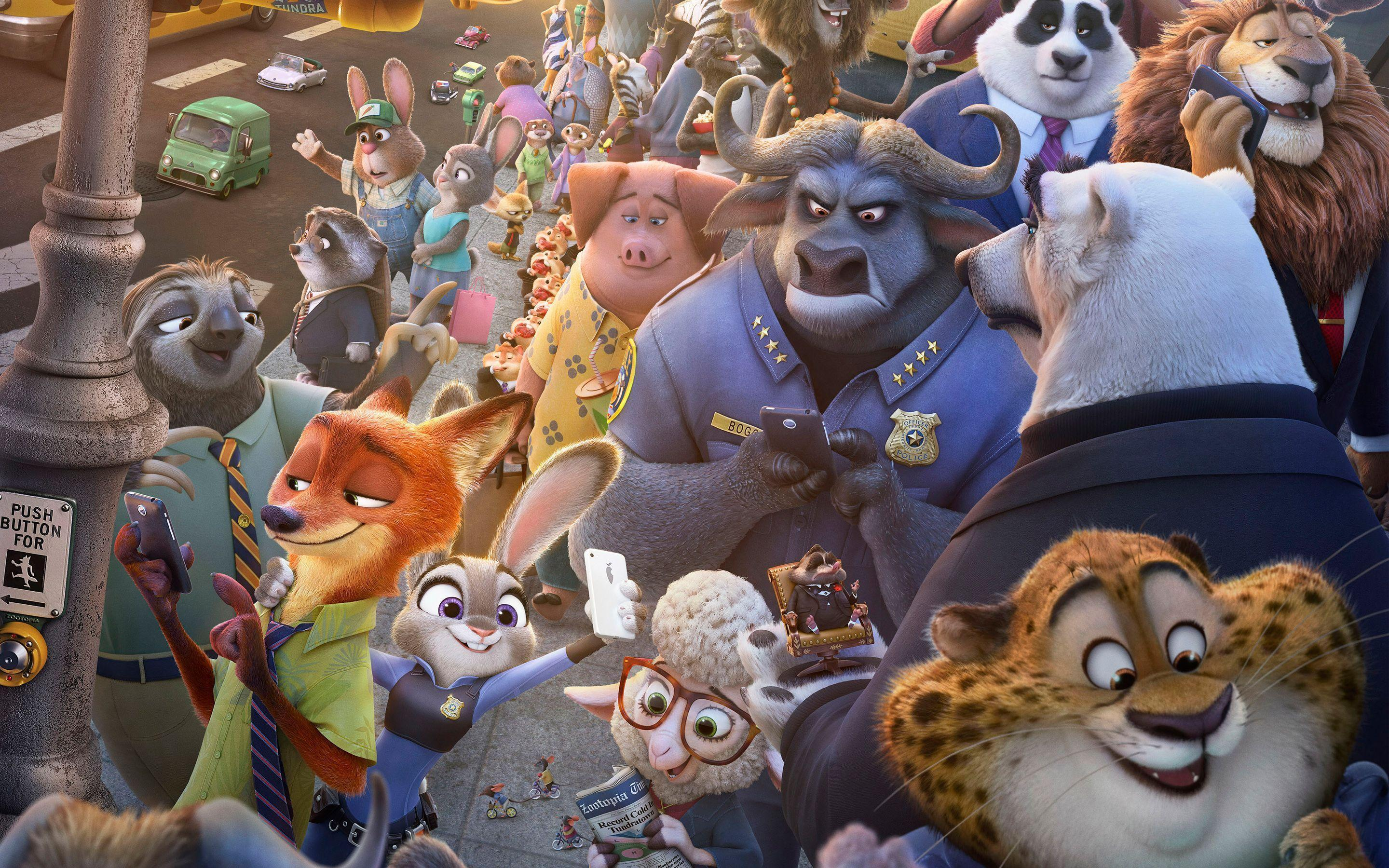 42 Zootopia HD Wallpapers | Backgrounds - Wallpaper Abyss