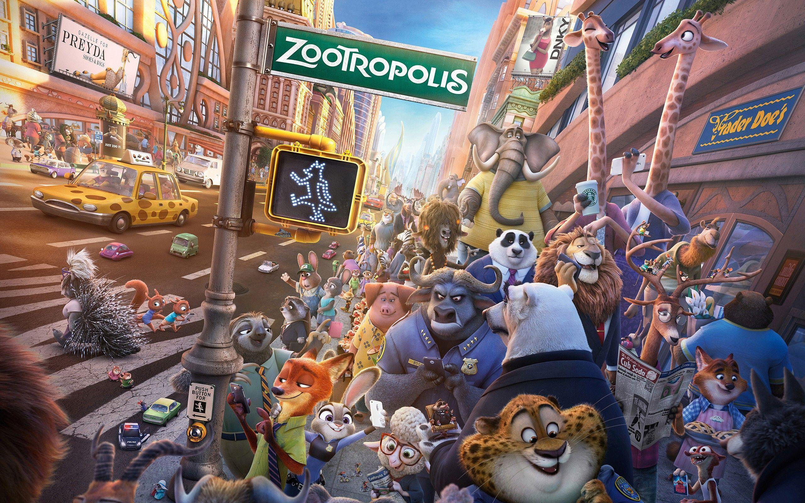 Zootopia, Disney, Movies Wallpapers HD / Desktop and Mobile ...