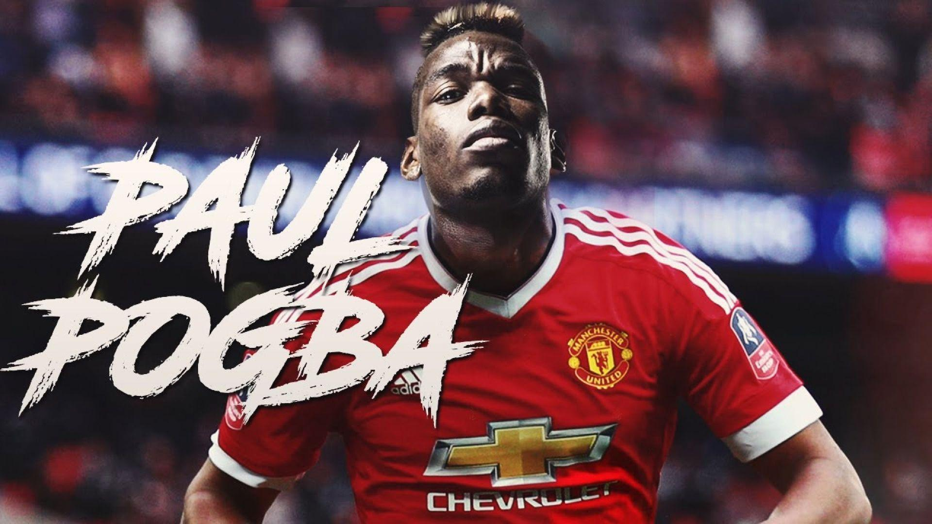 Paul Pogba Manchester United Wallpaper | WallpaperPlay