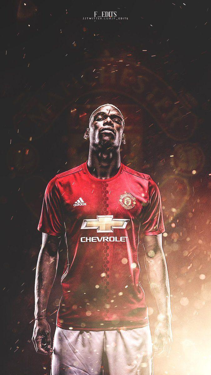 "Manchester United on Twitter: ""Paul Pogba wallpaper [@F_Edits ..."