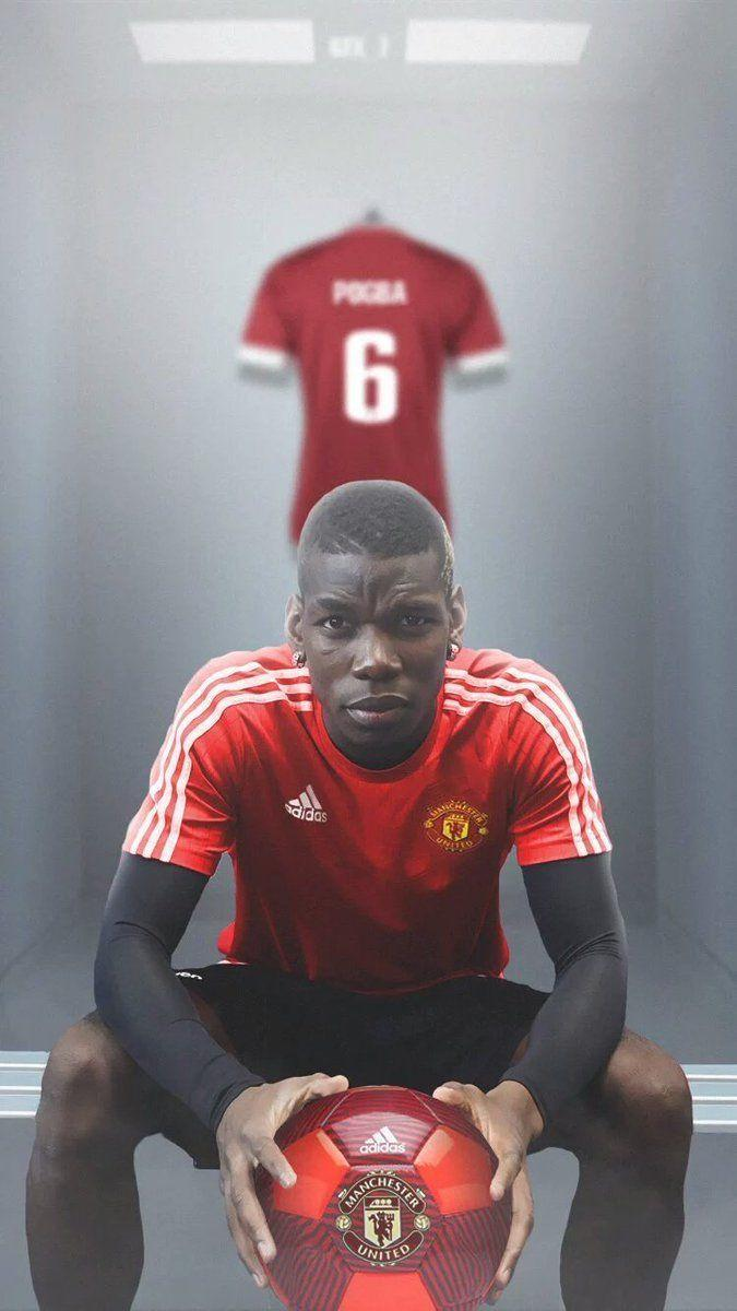 "Manchester United on Twitter: ""Paul Pogba wallpaper [@GFX_7] #MUFC ..."