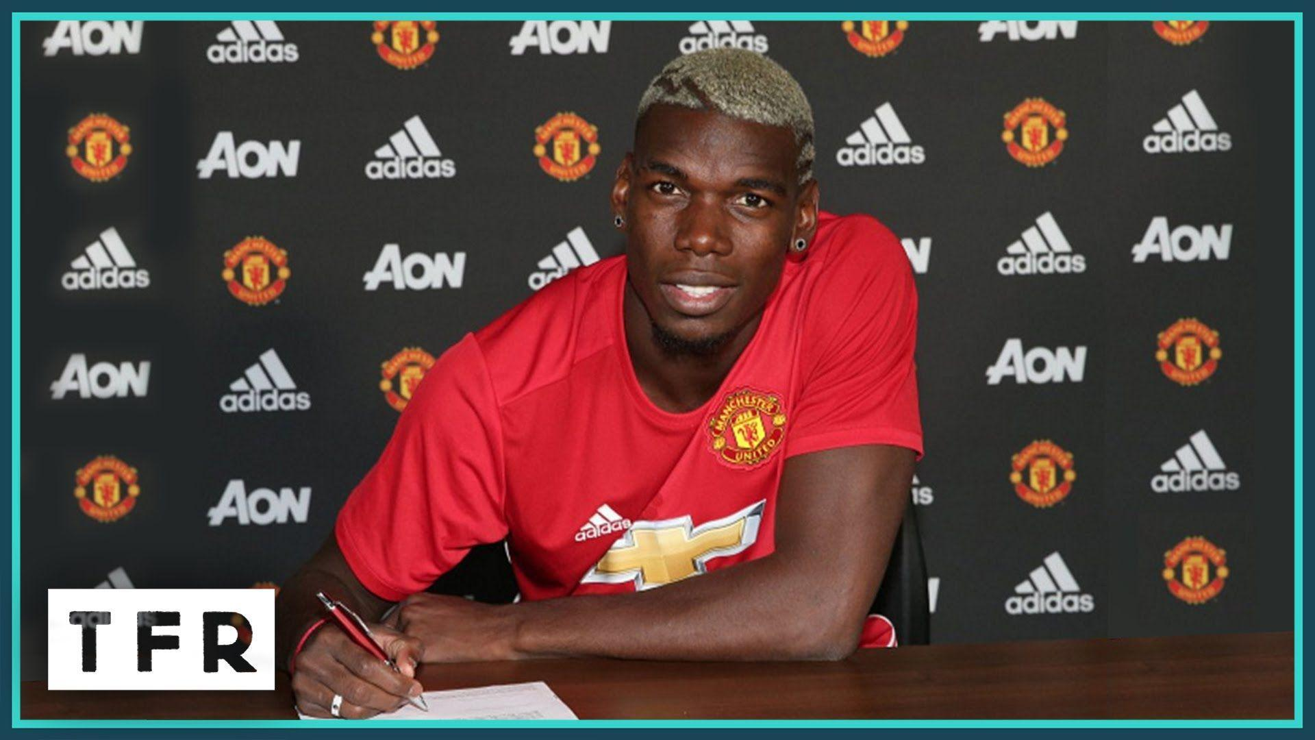 Paul Pogba's first Manchester United interview! | PAUL POGBA TO ...