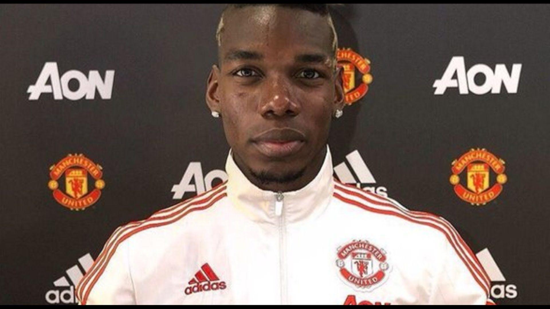 Paul Pogba - Welcome To Manchester United 2016 - HD - YouTube