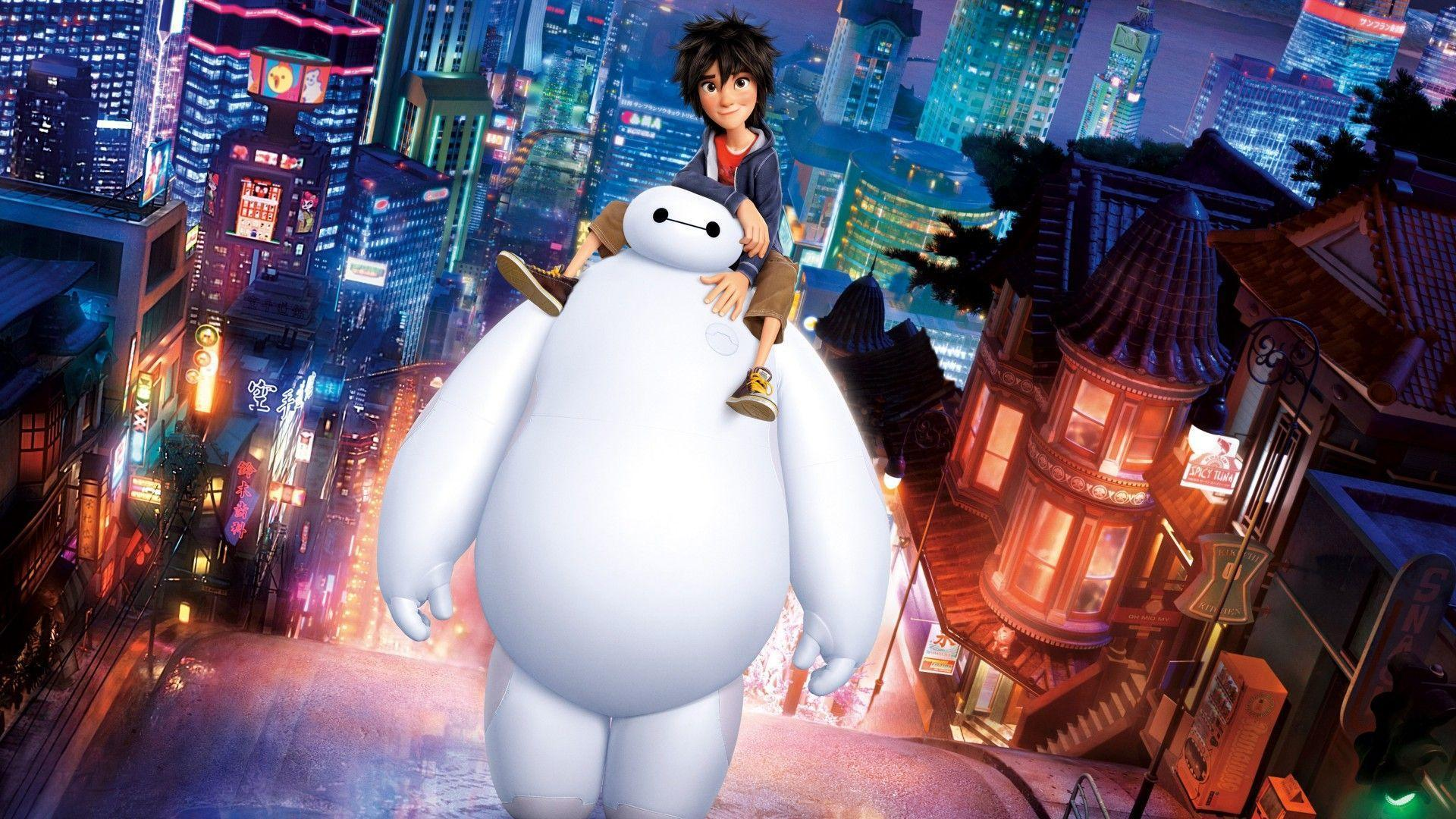 Big Hero 6 Hiro Baymax Wallpapers | HD Wallpapers
