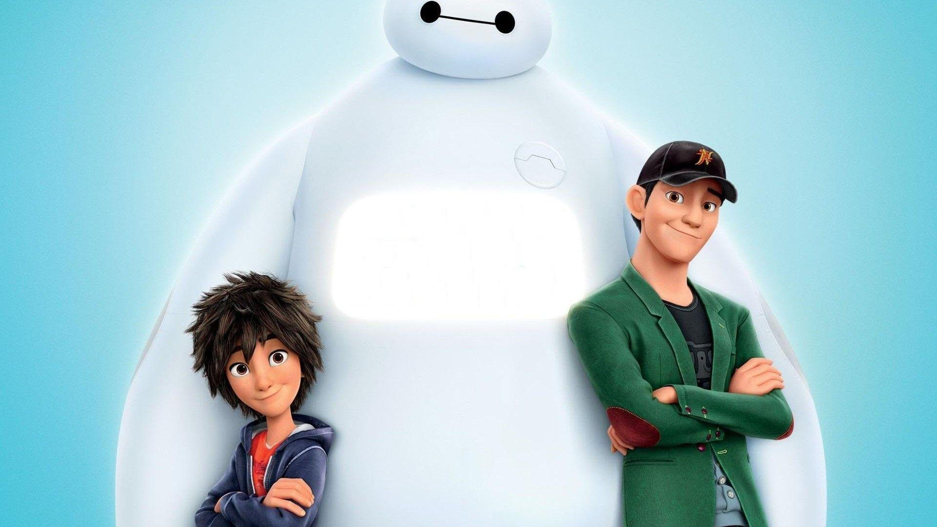 High Resolution Baymax and Hiro Full HD Wallpaper Full Size ...