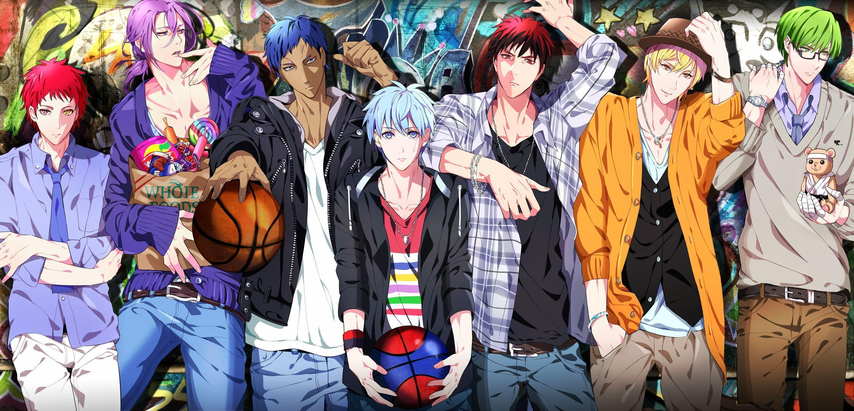 5 7 Anime Characters : Kuroko no basuke wallpapers wallpaper cave