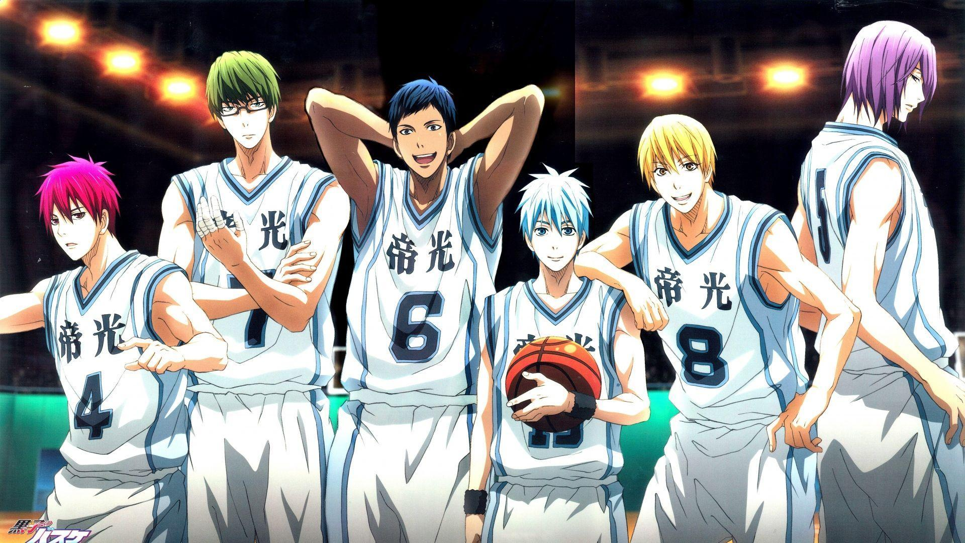 Download Wallpaper 1920x1080 Kuroko no basket, Team, Akashi ...