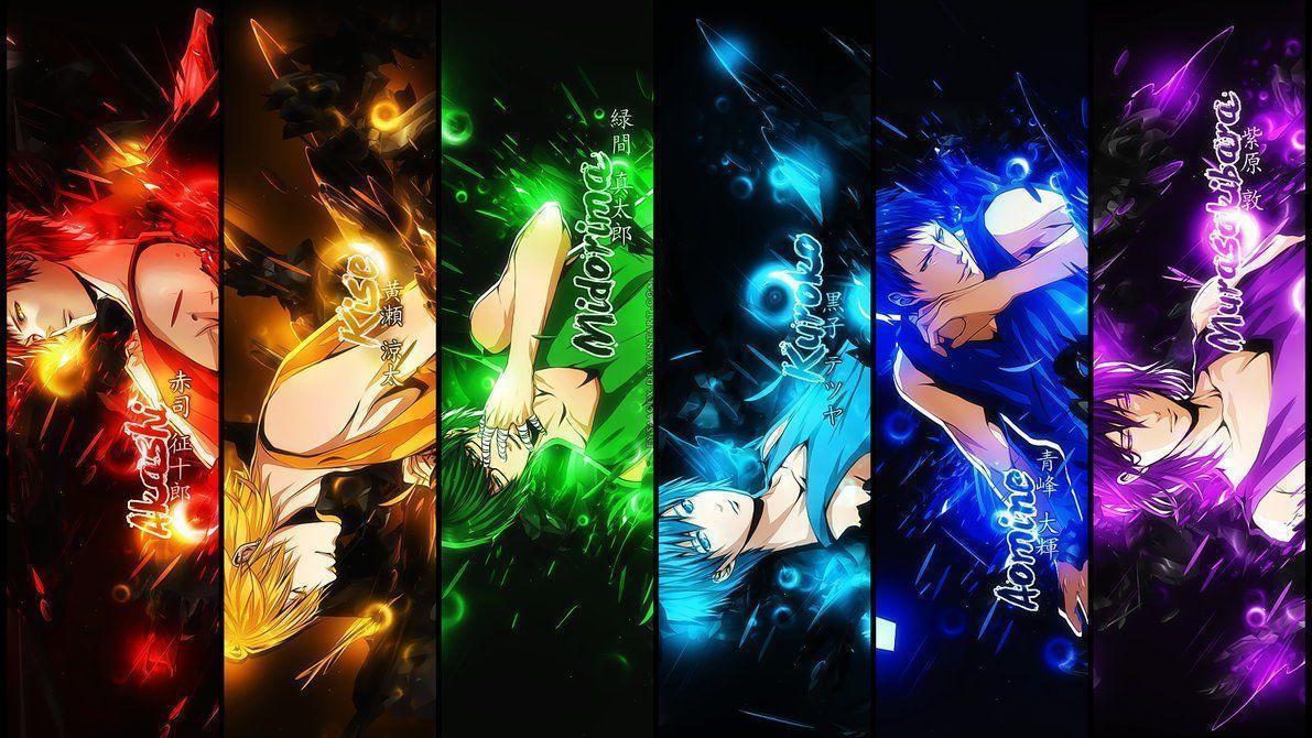 WALLPAPER] Kuroko no Basket by EysaaGFX on DeviantArt