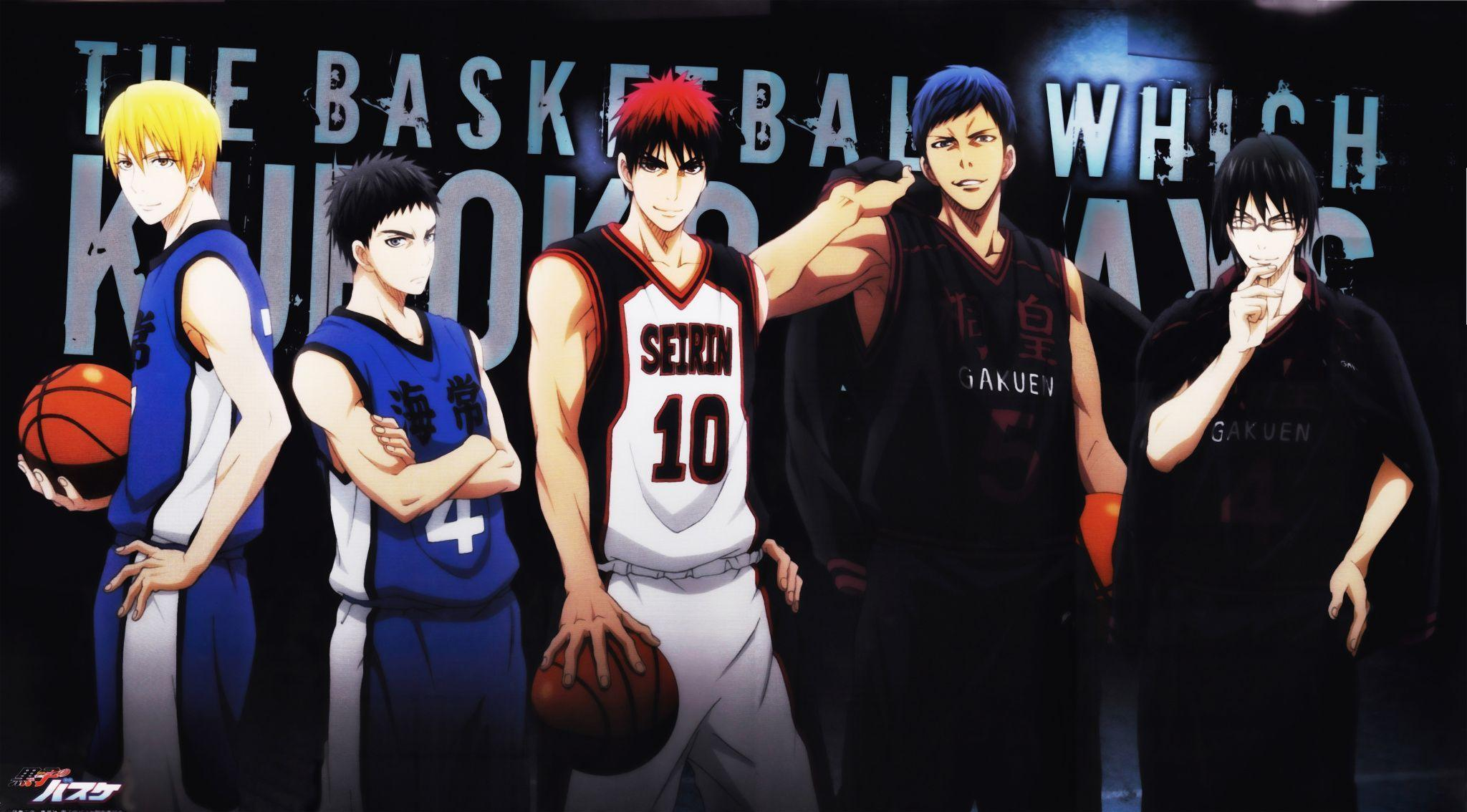 Kuroko no Basket Seirin High wallpaper | 3299x2283 | 177336 ...